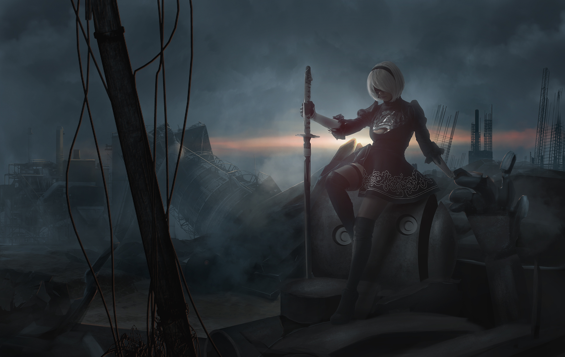 Nier Automata Hd Hd Games 4k Wallpapers Images Backgrounds