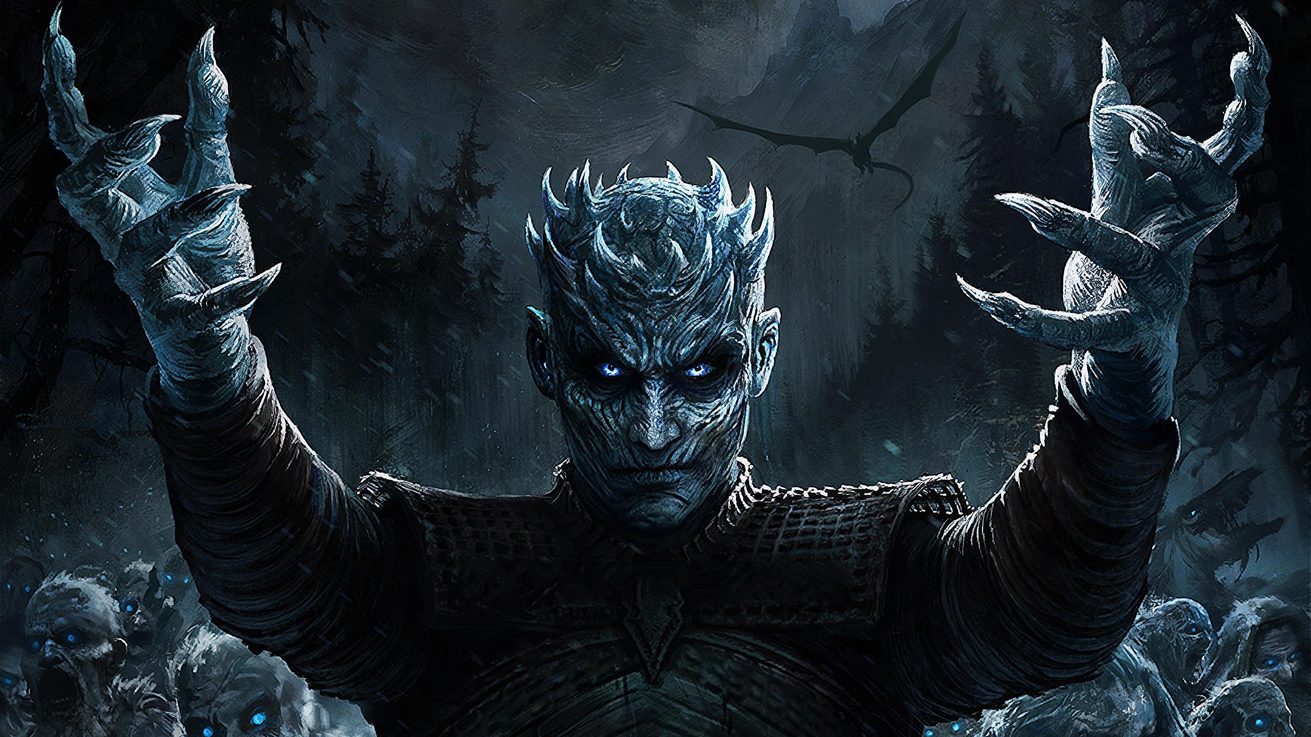 2048x1152 Night King Game Of Thrones Season 8 Art 2048x1152