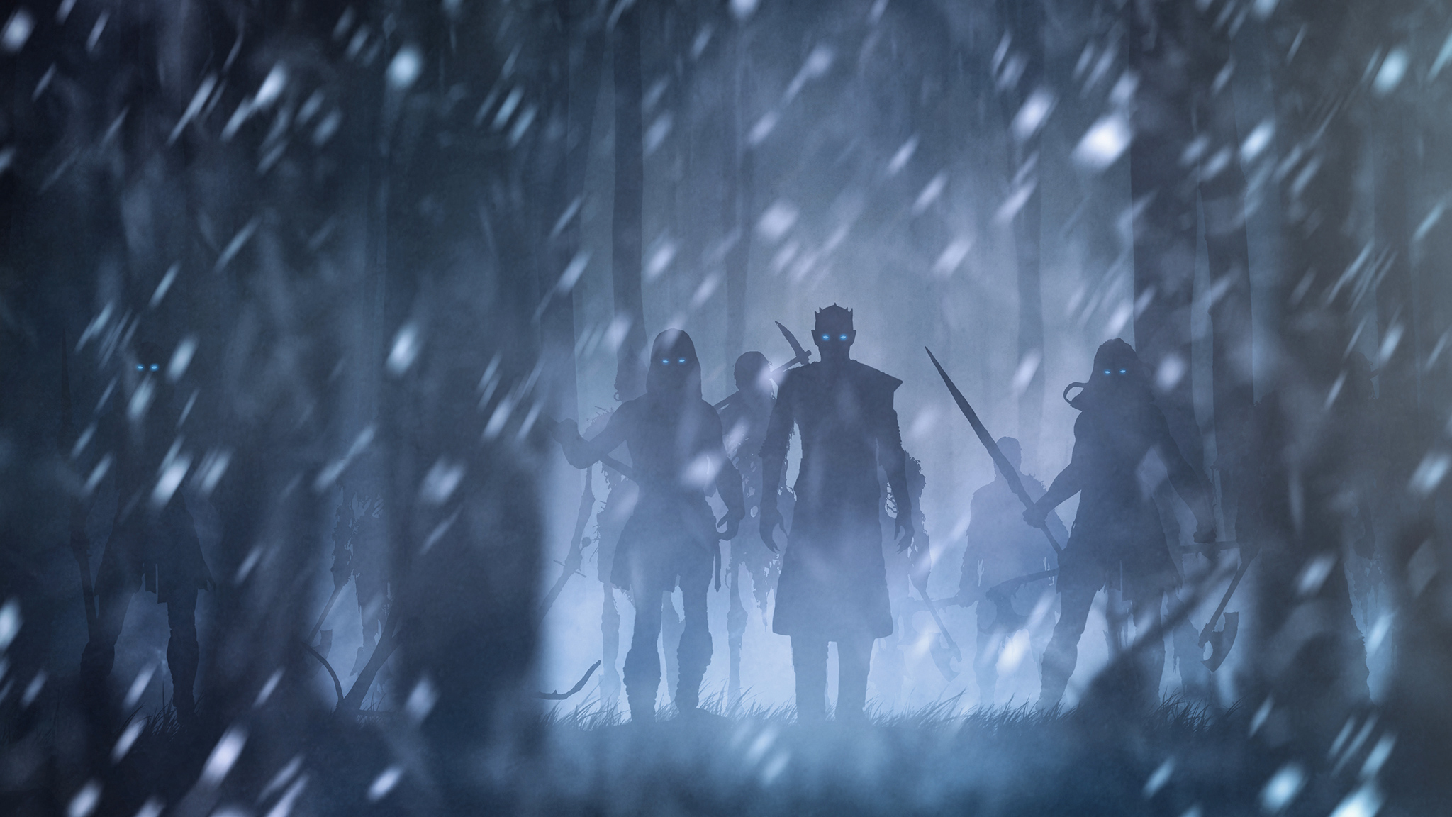 Night King With White Walkers Artwork Hd Tv Shows 4k Wallpapers