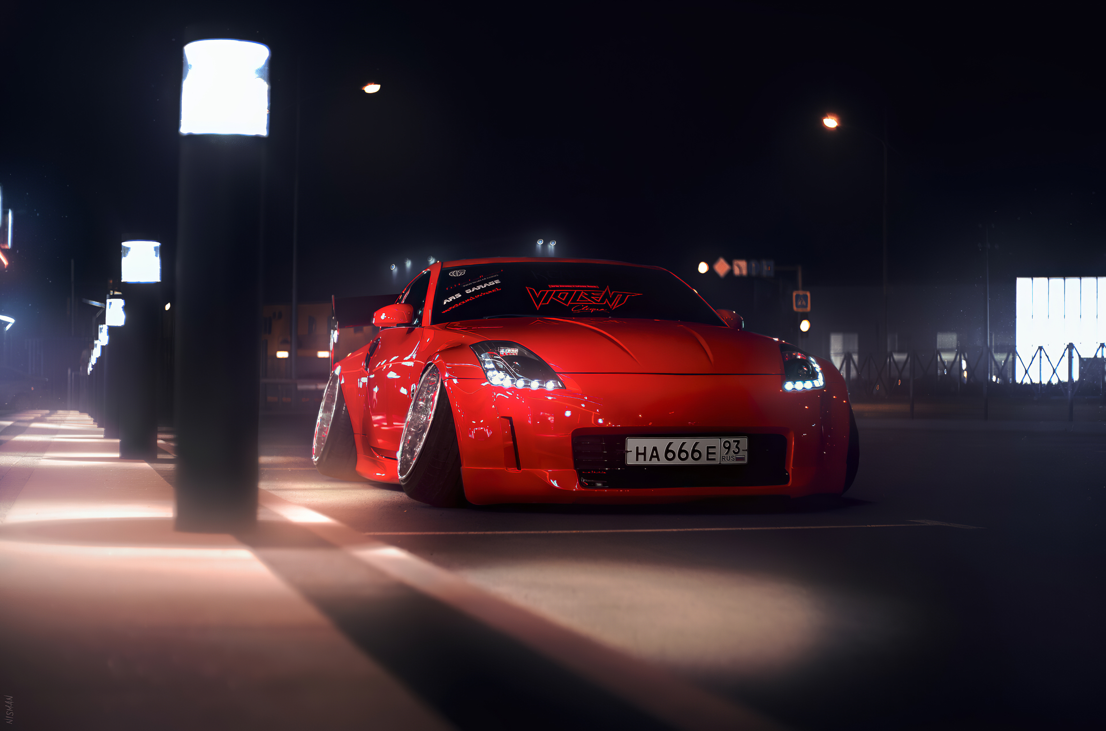 Nissan 350z Modified 4k Hd Cars 4k Wallpapers Images Backgrounds Photos And Pictures