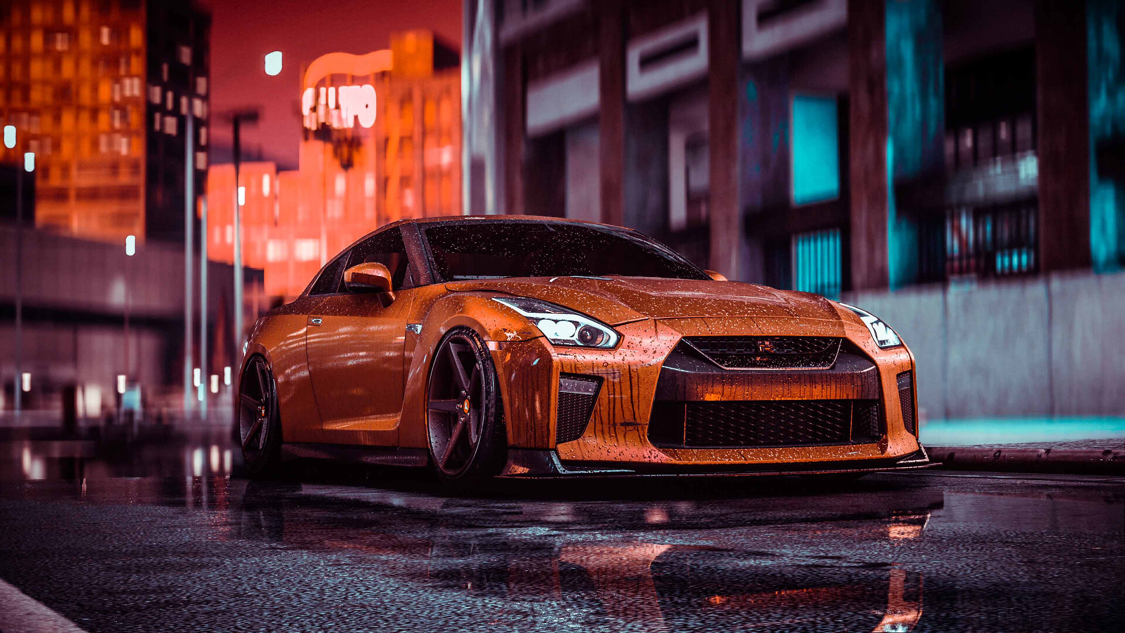 Nissan Gtr Nfs Front 4k Hd Cars 4k Wallpapers Images Backgrounds Photos And Pictures