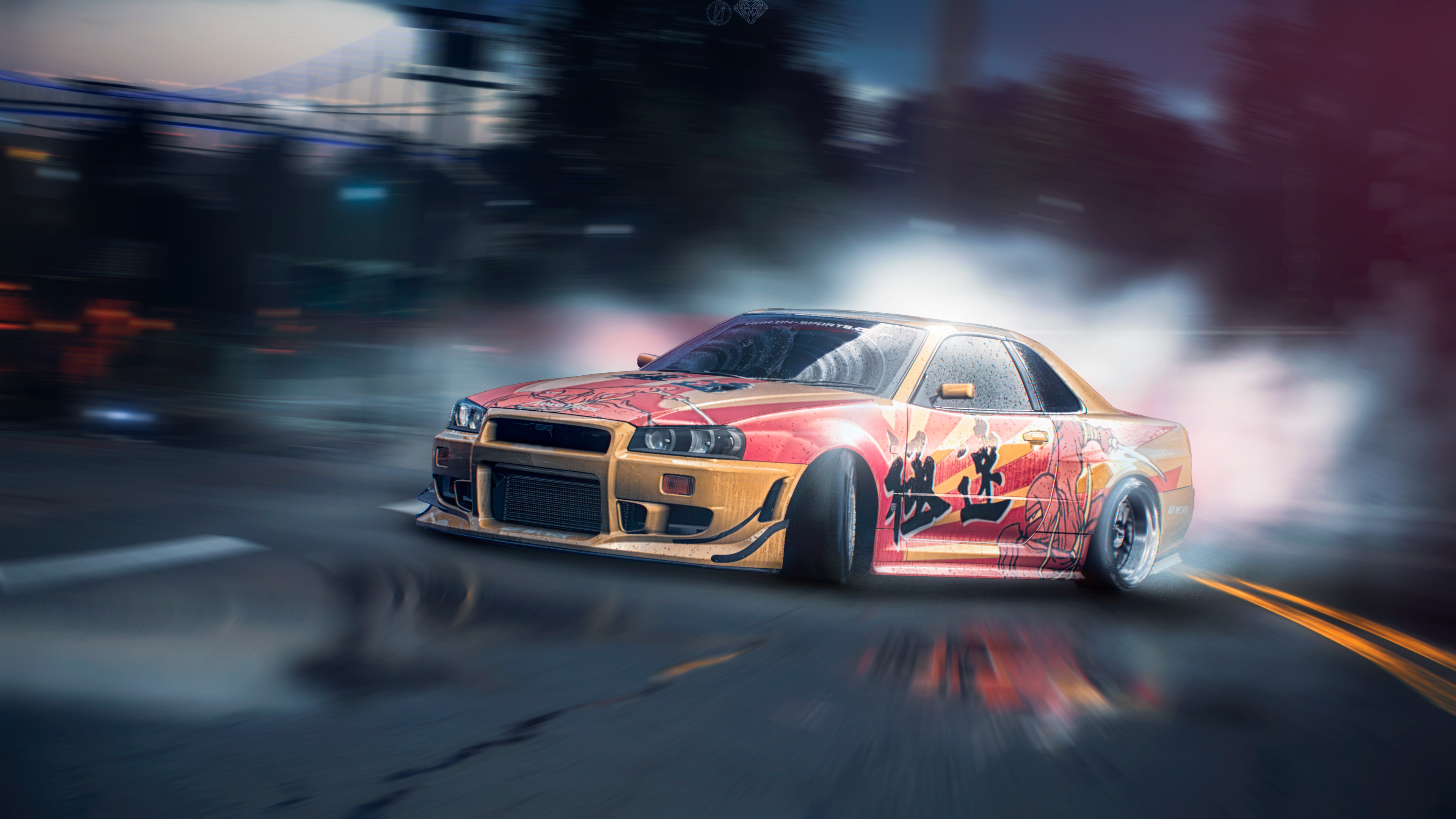 Nissan Skyline Gt R Need For Speed X Street Racing Syndicate 4k Hd Games 4k Wallpapers Images Backgrounds Photos And Pictures