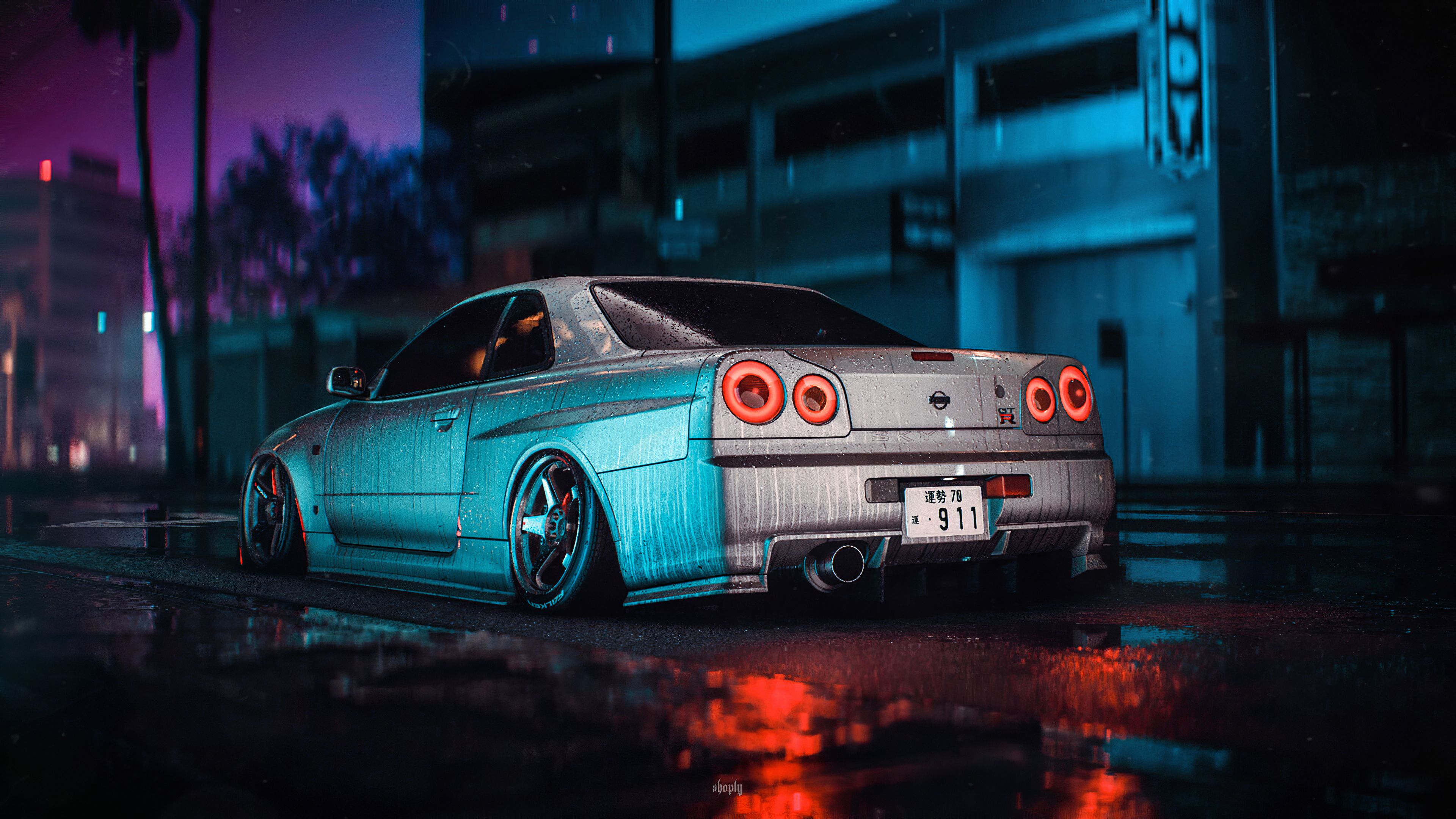 Nissan Skyline Gt R R34 Need For Speed 4k Hd Games 4k Wallpapers Images Backgrounds Photos And Pictures
