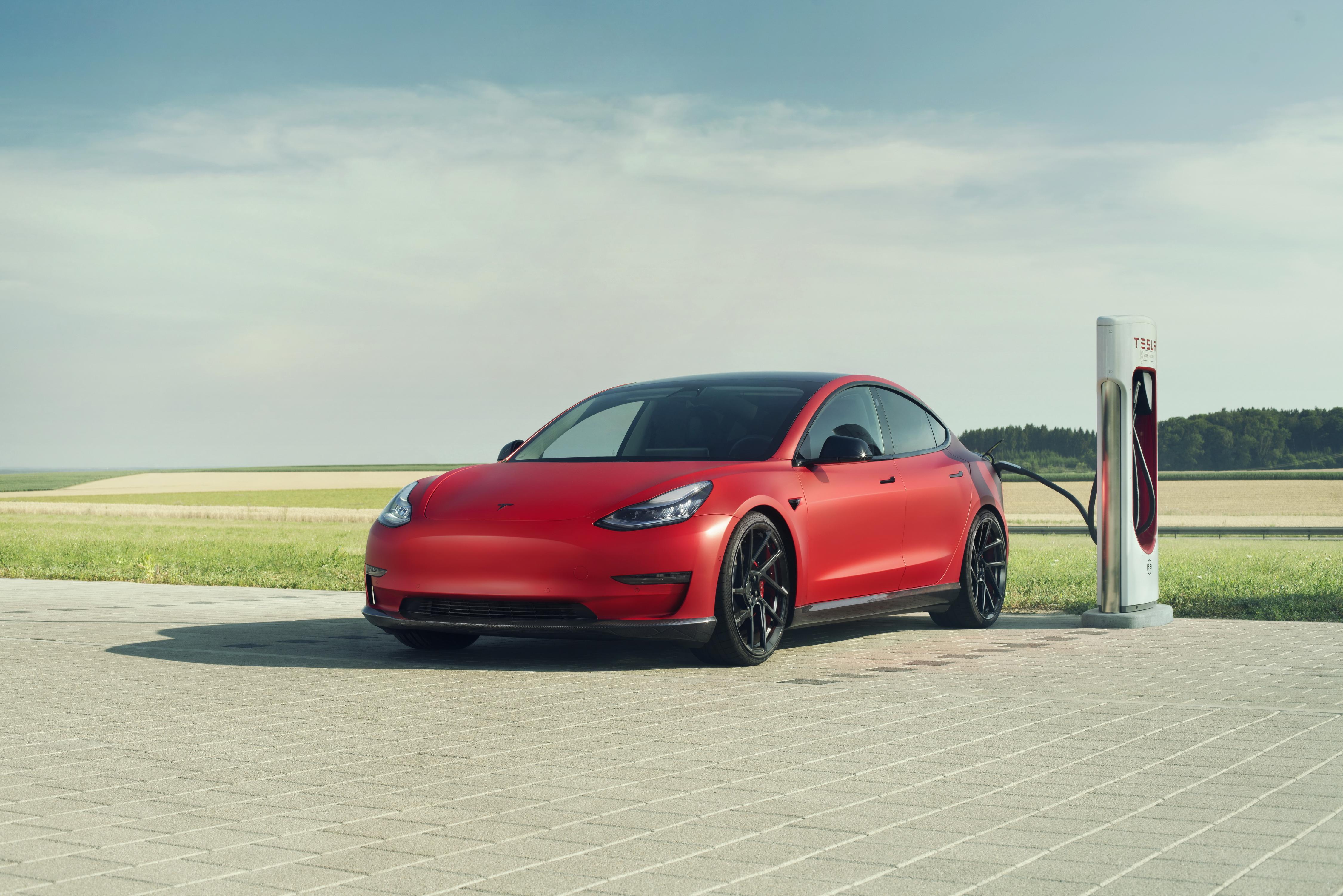 Novitec Tesla Model 3 2019 Charging, HD Cars, 4k ...