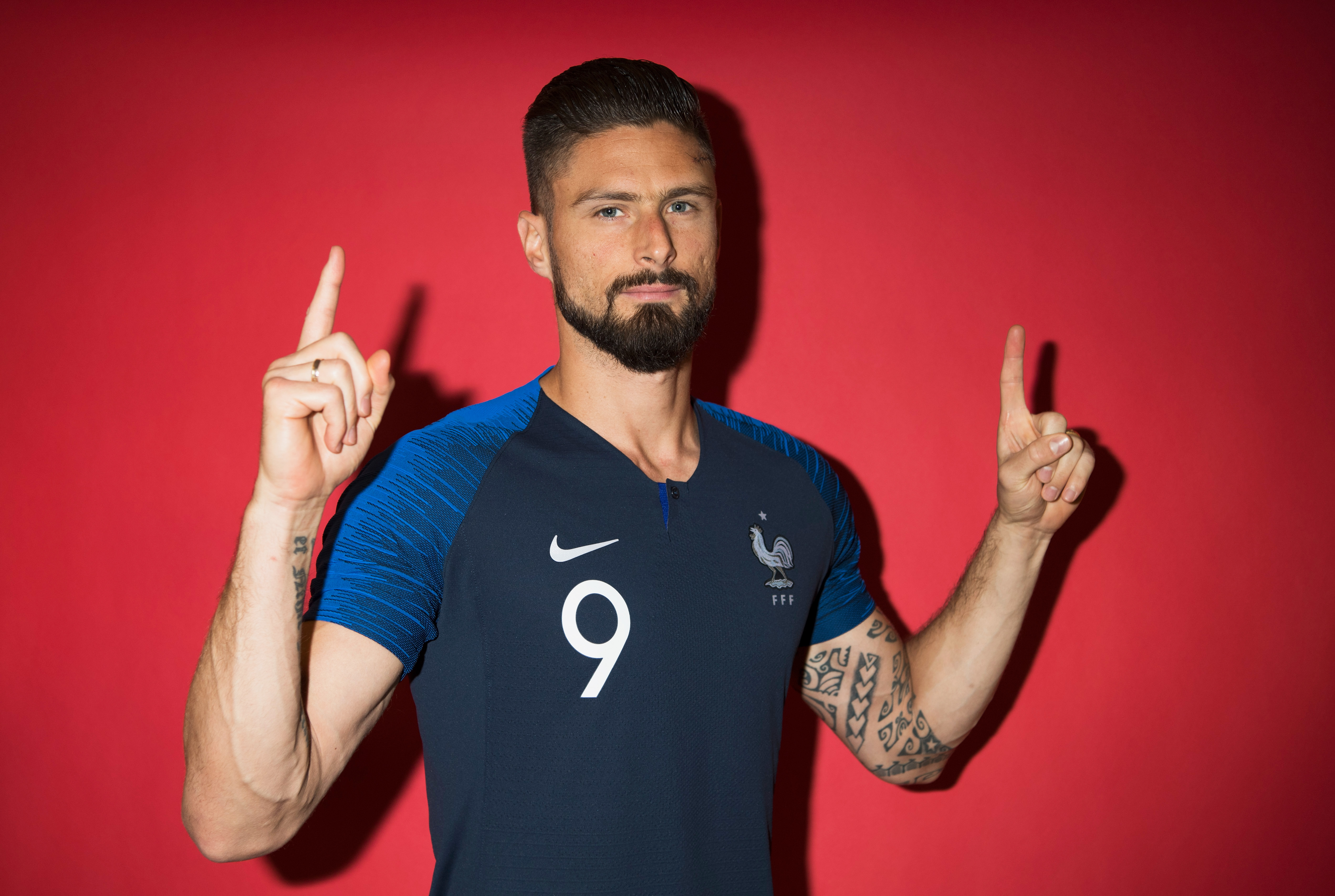 Olivier Giroud Hd Sports 4k Wallpapers Images Backgrounds Photos And Pictures