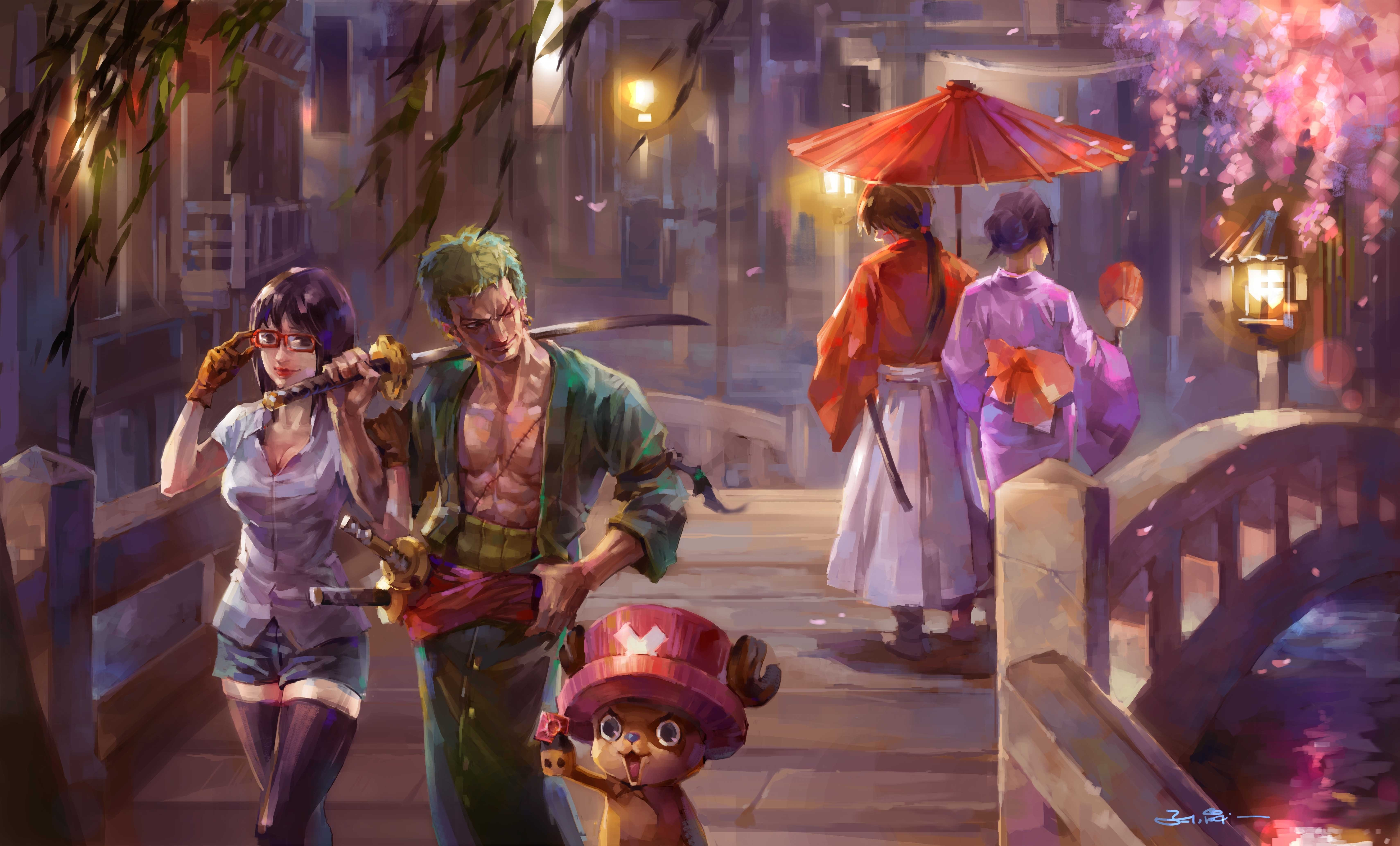 One Piece Painting 5k Hd Anime 4k Wallpapers Images Backgrounds Photos And Pictures