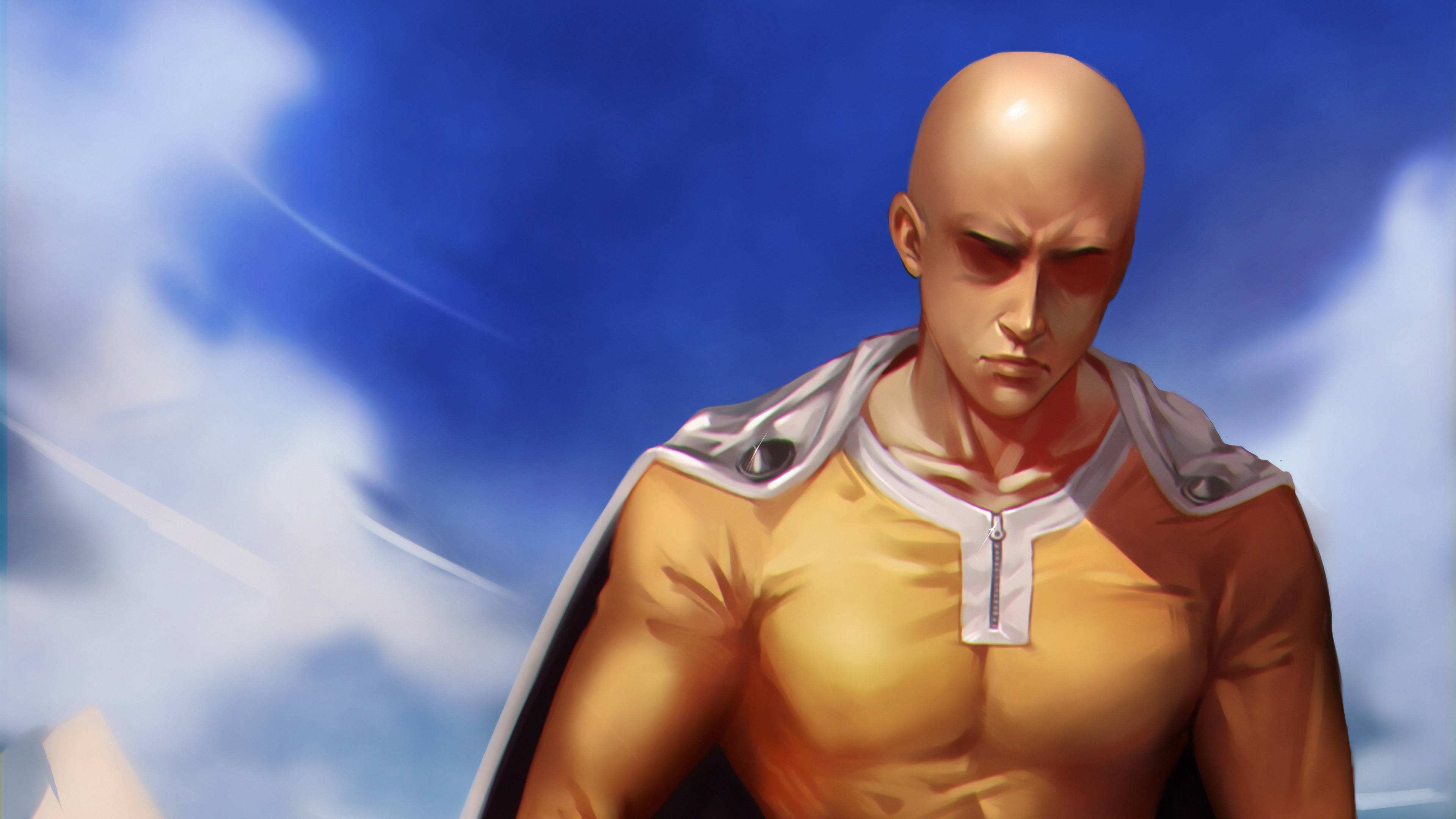 One Punch Man Art 4k Hd Anime 4k Wallpapers Images