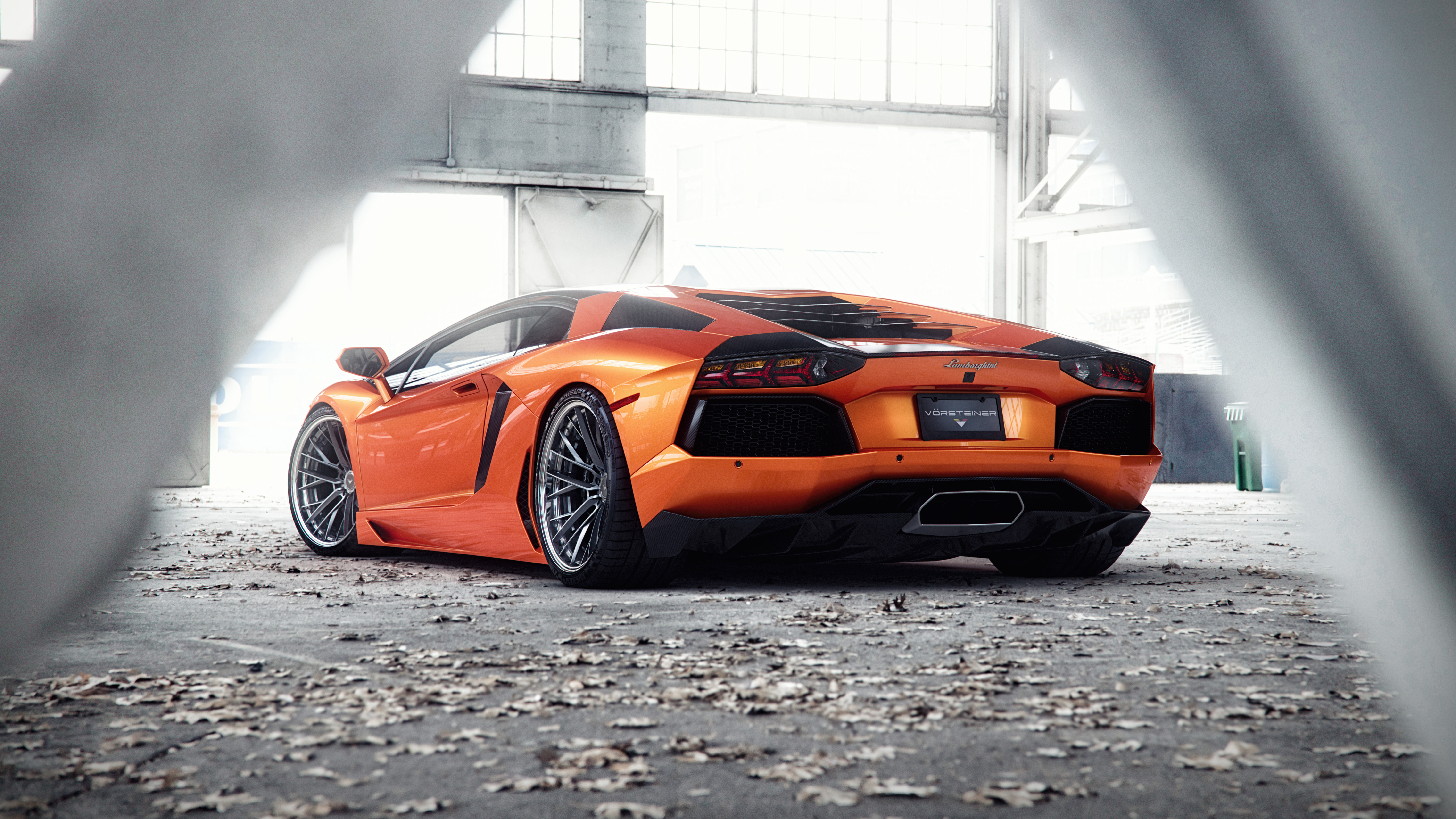 Orange Lamborghini Aventador 5k Hd Cars 4k Wallpapers Images Backgrounds Photos And Pictures