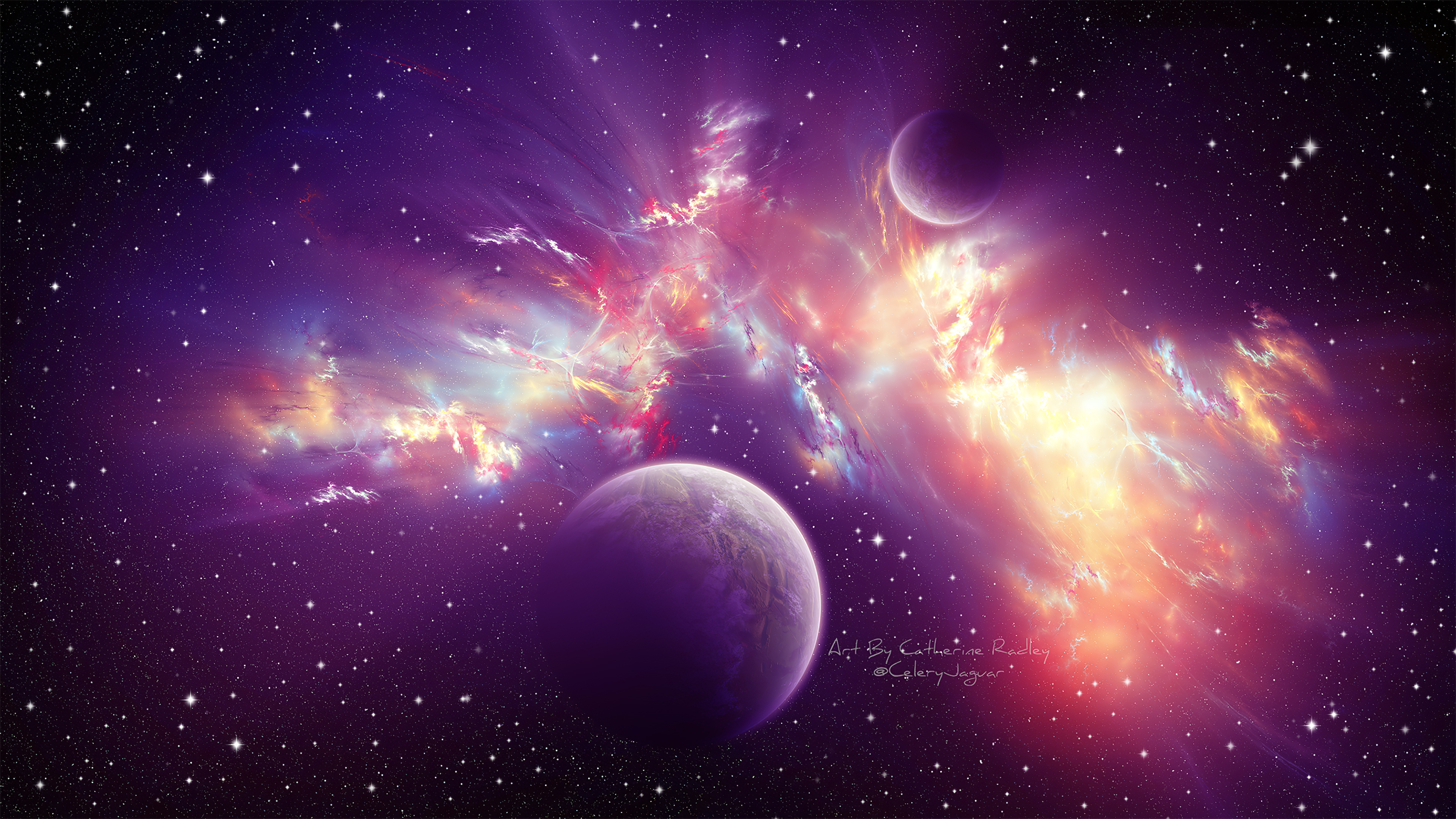 Outerspace 4k, HD Digital Universe, 4k Wallpapers, Images ...