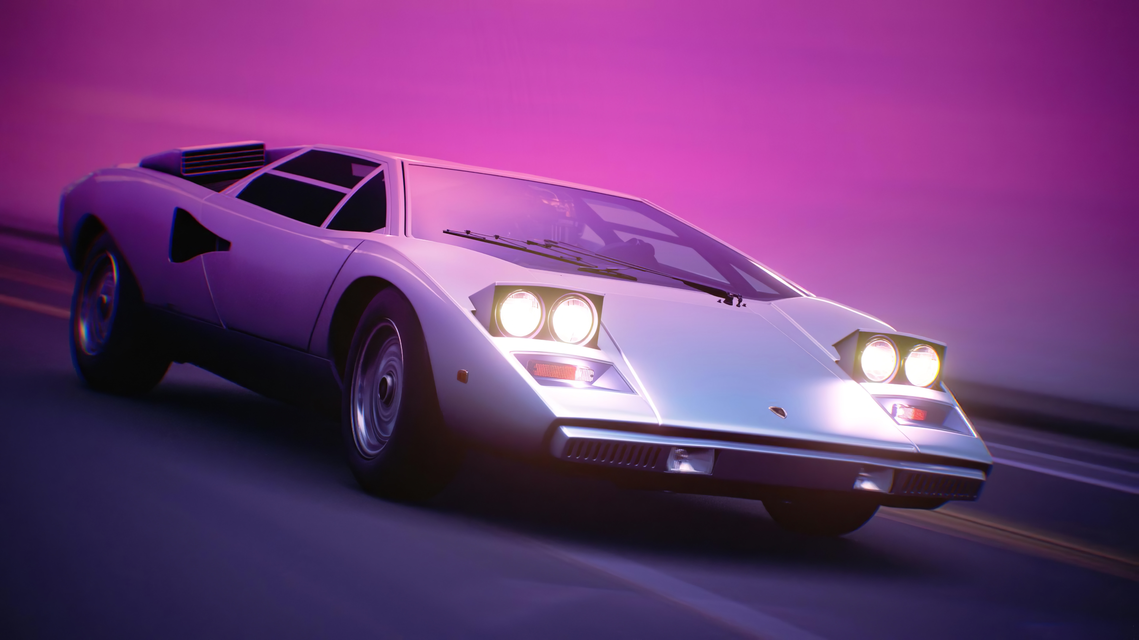 Outrun Car 4k HD Cars 4k Wallpapers Backgrounds