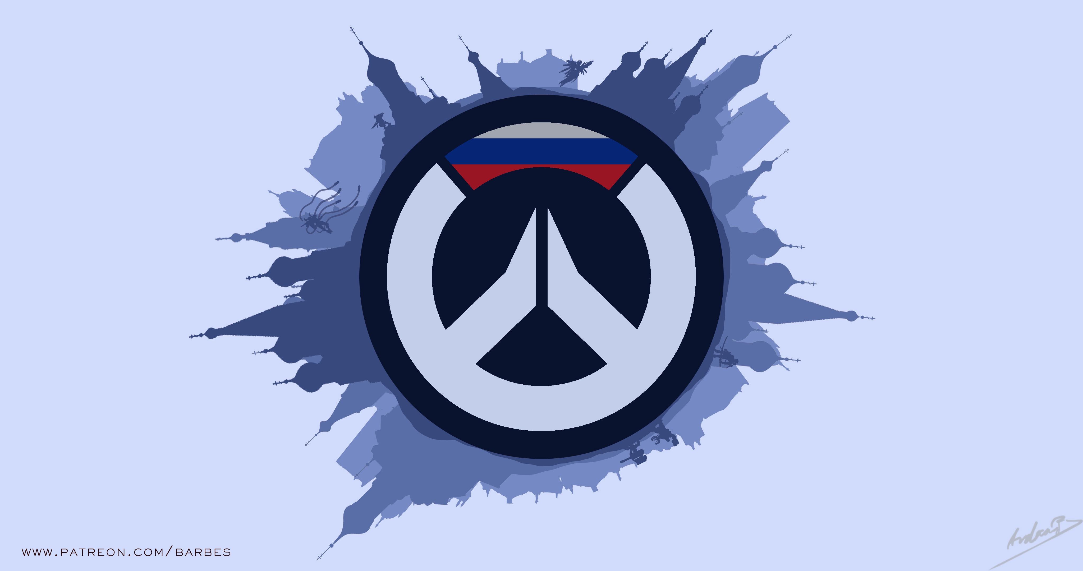 1680x1050 Overwatch 4k Minimalism Logo Artwork 1680x1050