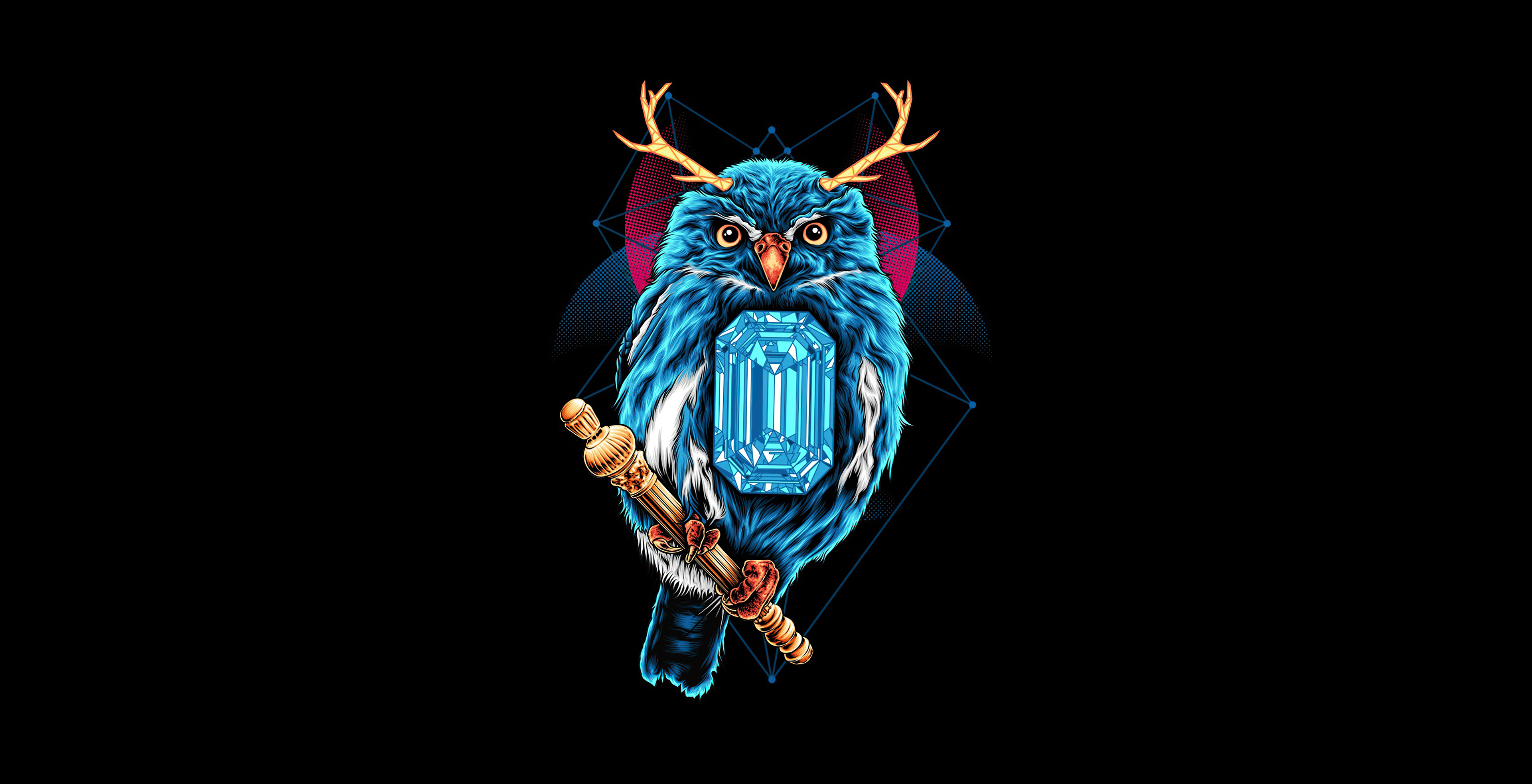 Owl Dark Black 4k Hd Artist 4k Wallpapers Images Backgrounds Photos And Pictures