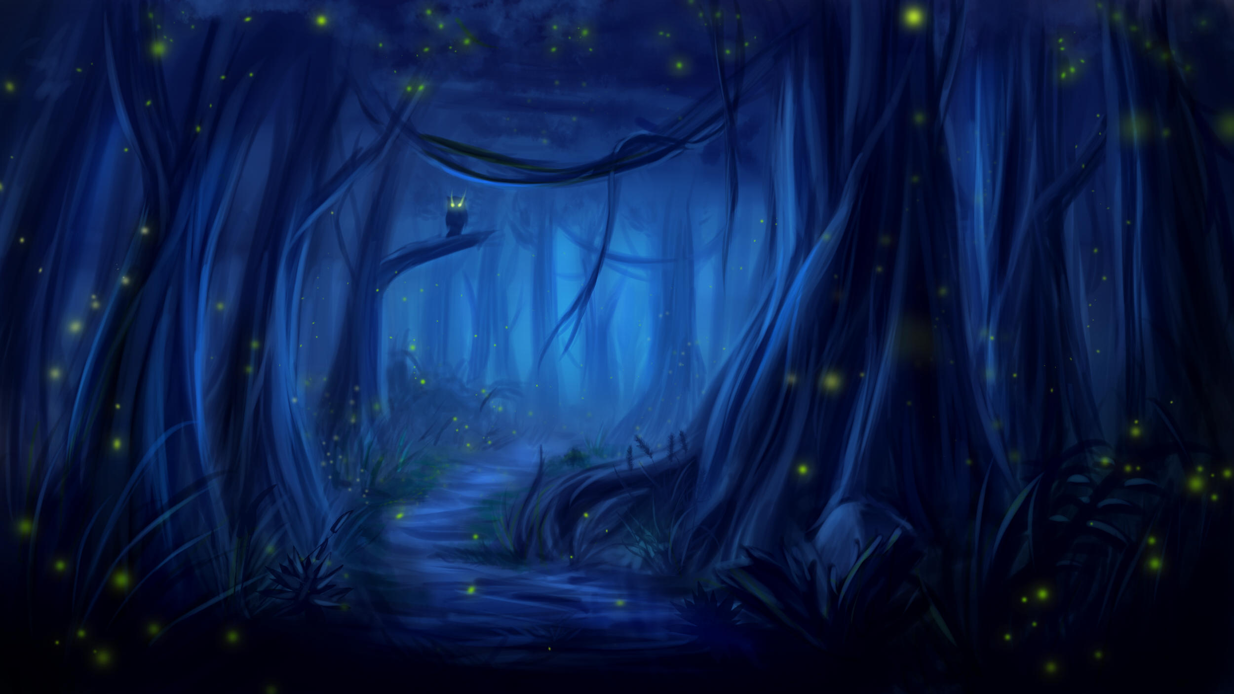 Owl Forest Fantasy Dreamy Hd Artist 4k Wallpapers Images Backgrounds Photos And Pictures