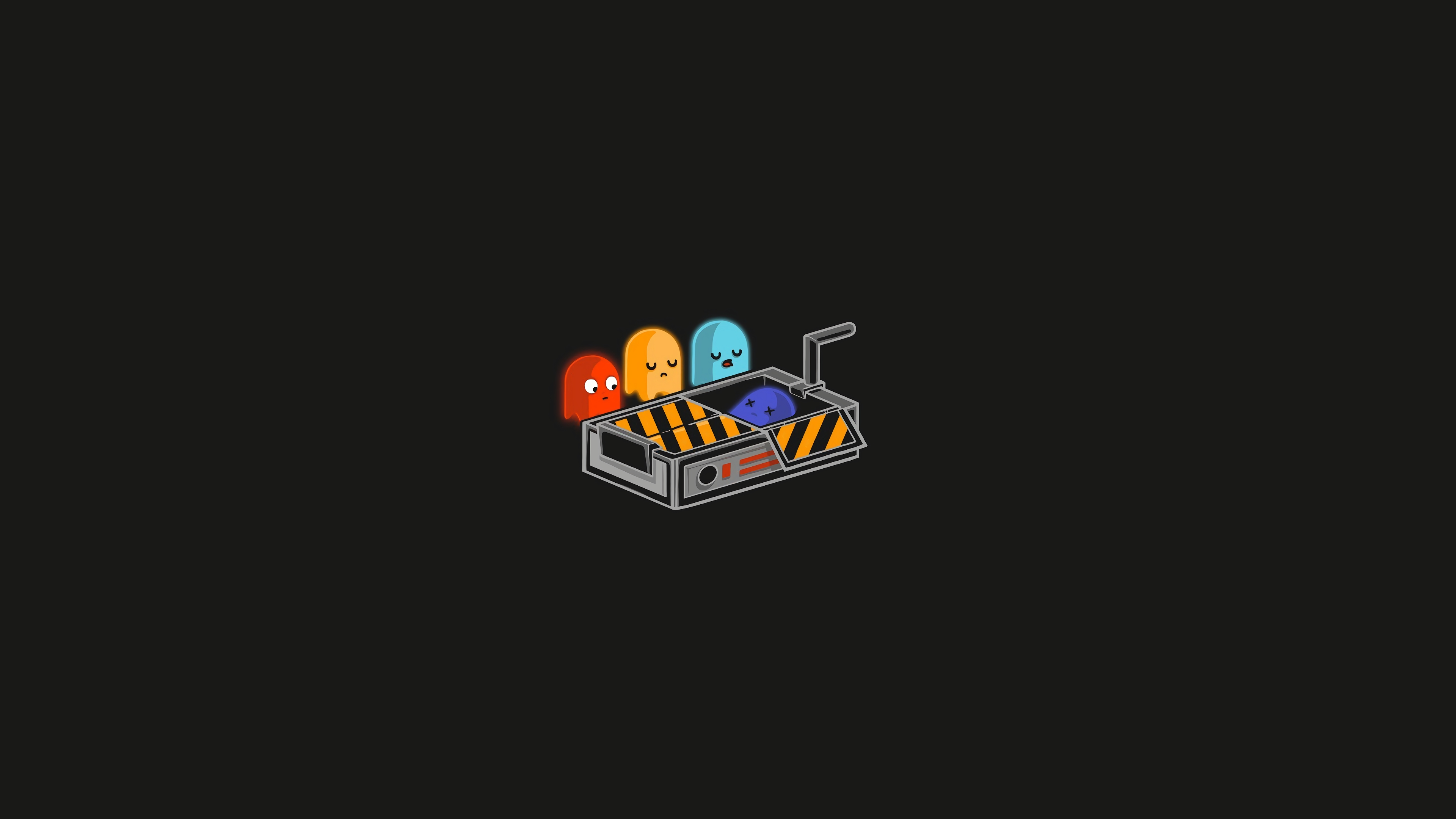 Pacman Minimal 4k Hd Artist 4k Wallpapers Images Backgrounds Photos And Pictures