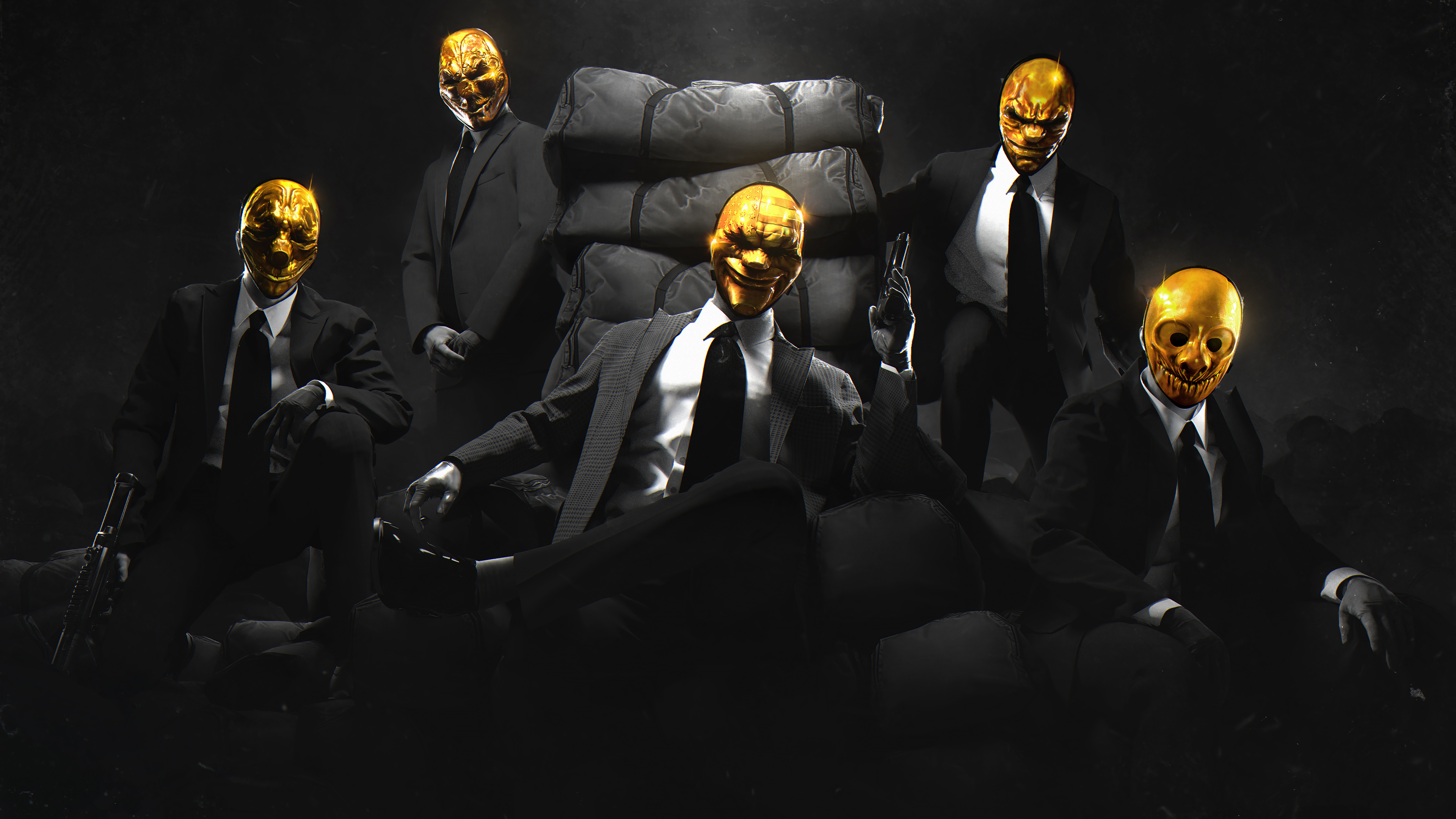 Payday Gold Crew Hd Games 4k Wallpapers Images