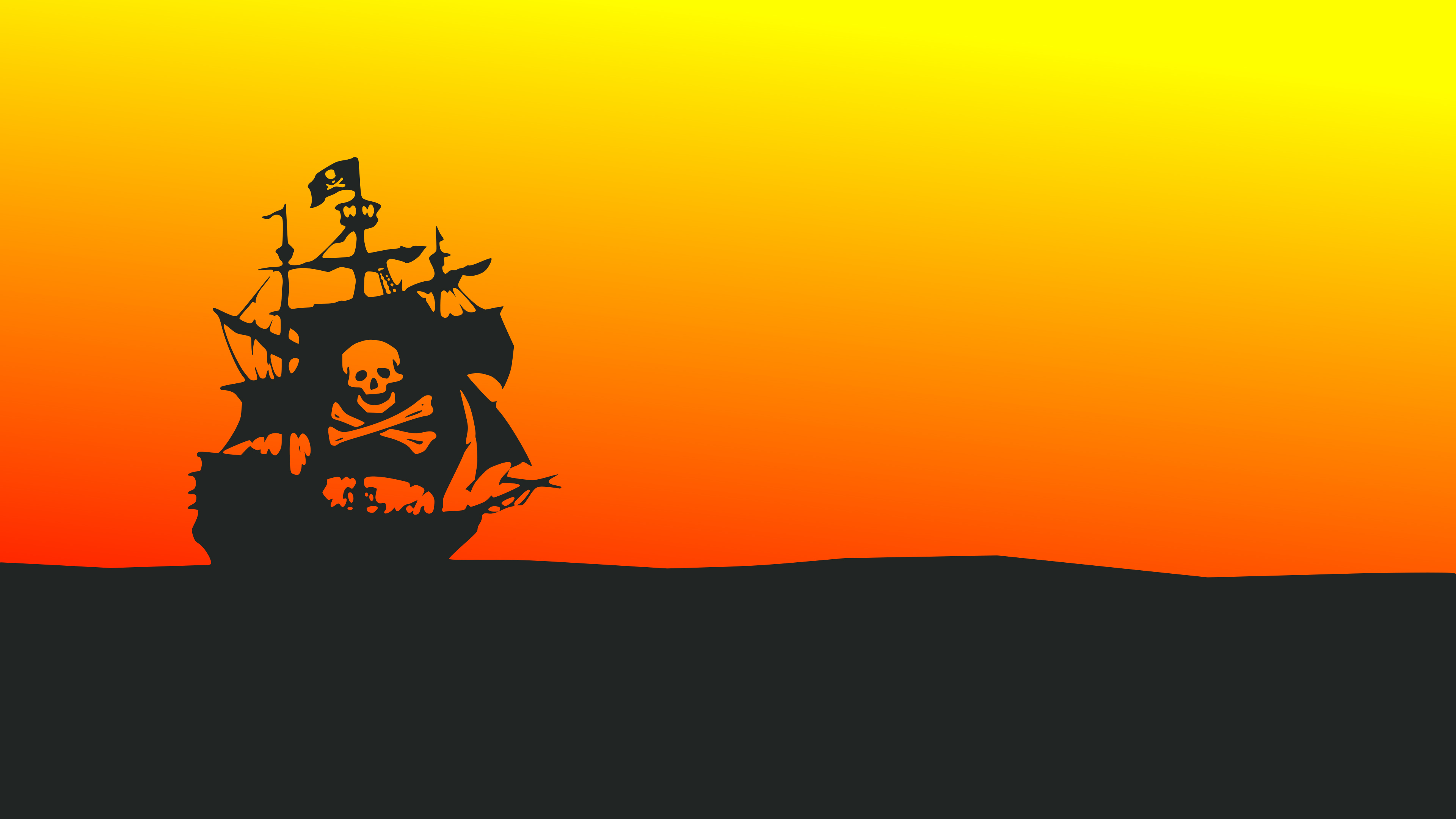 2560x1080 Pirate Ship Minimalist 4k 2560x1080 Resolution Hd 4k Wallpapers Images Backgrounds Photos And Pictures