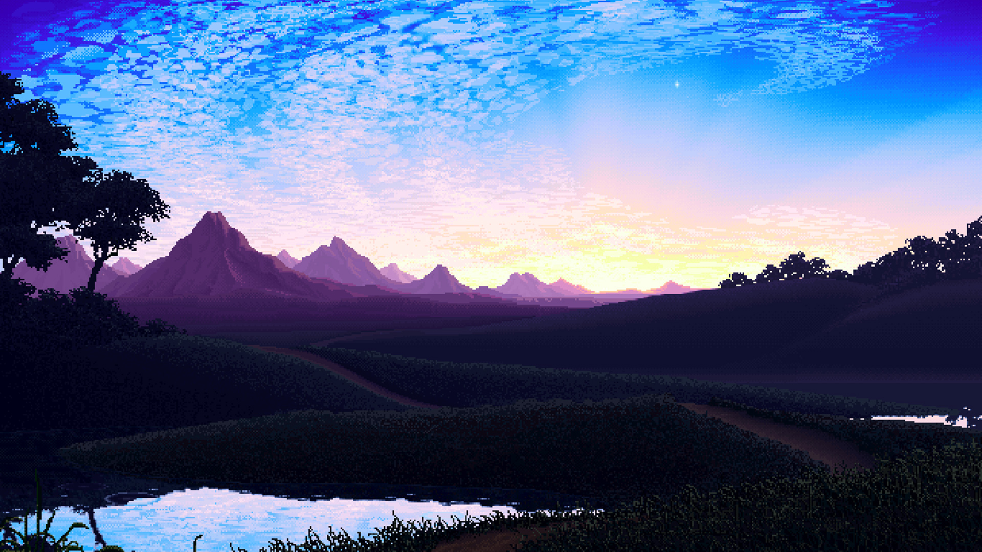 Pixel Landscape Hd Artist 4k Wallpapers Images Backgrounds Photos And Pictures