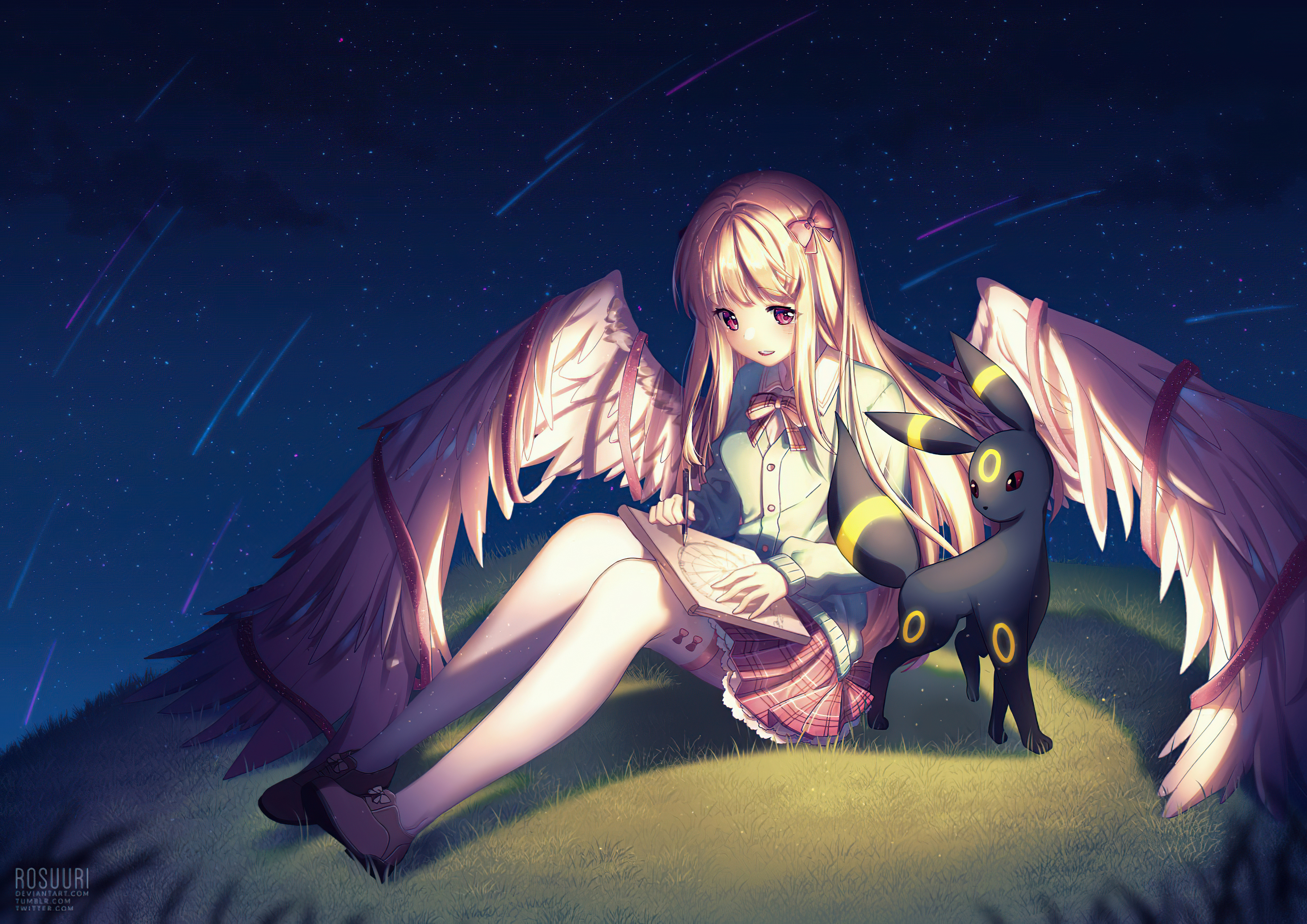 1440x2960 Pokemon Angel Girl Anime Wings 4k Samsung Galaxy Note 9 8 S9 S8 S8 Qhd Hd 4k Wallpapers Images Backgrounds Photos And Pictures