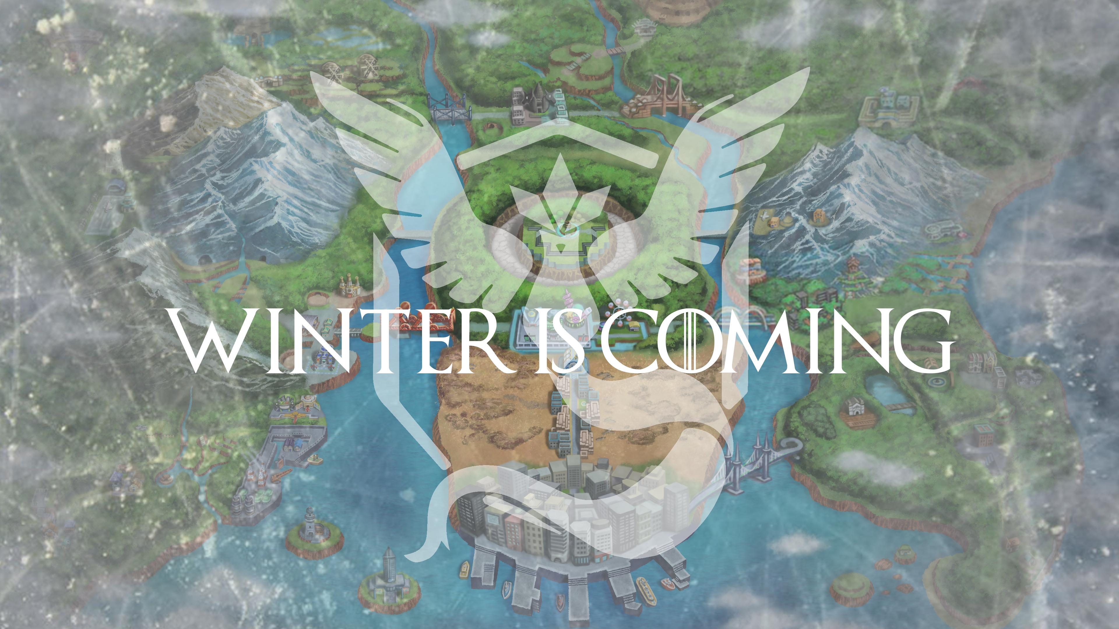 640x1136 Pokemon Go Winter Is Coming Iphone 5 5c 5s Se Ipod Touch