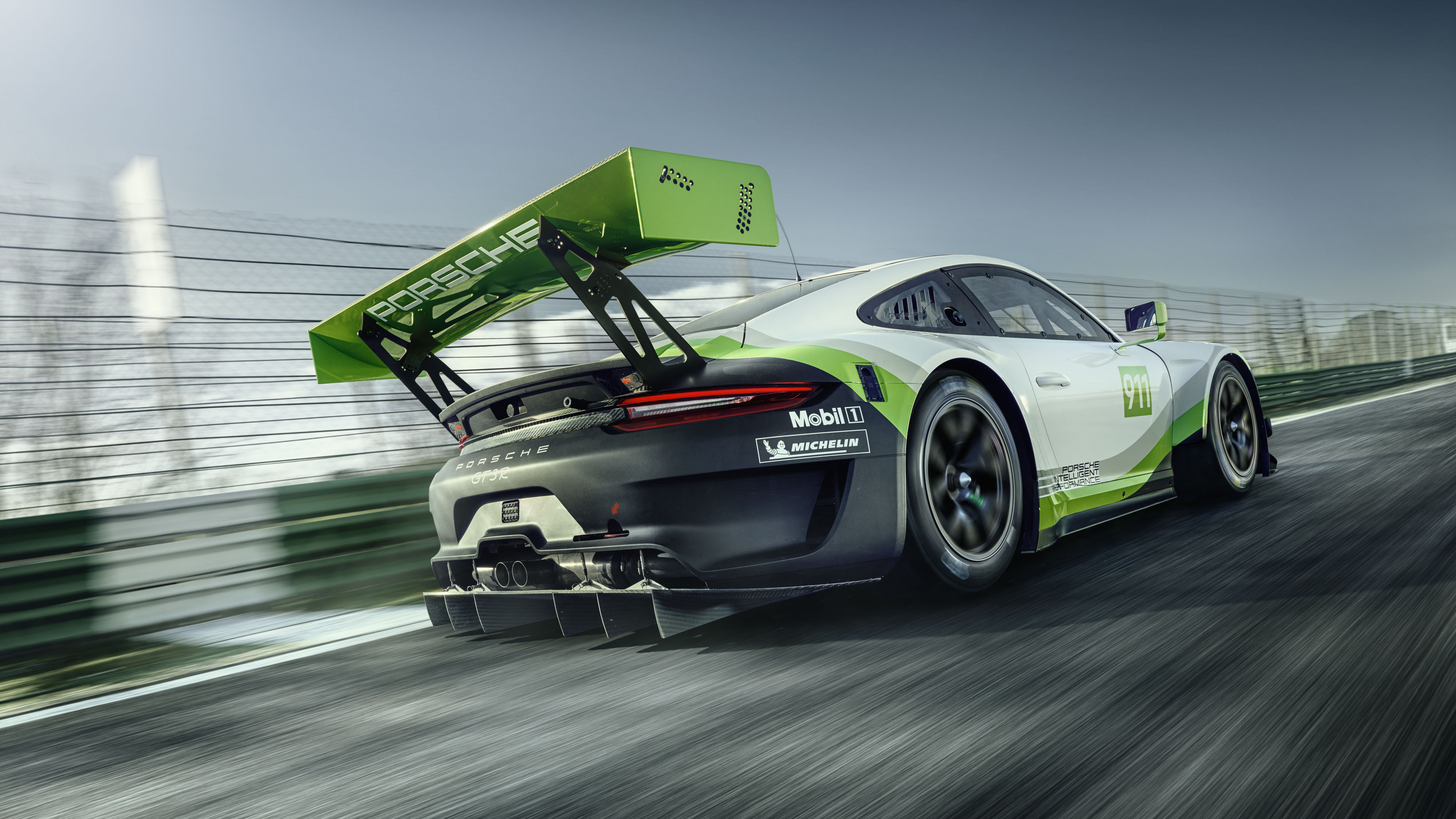 1920x1080 Porsche 911 Gt3 R 2018 Rear Laptop Full Hd 1080p Hd 4k Wallpapers Images Backgrounds Photos And Pictures