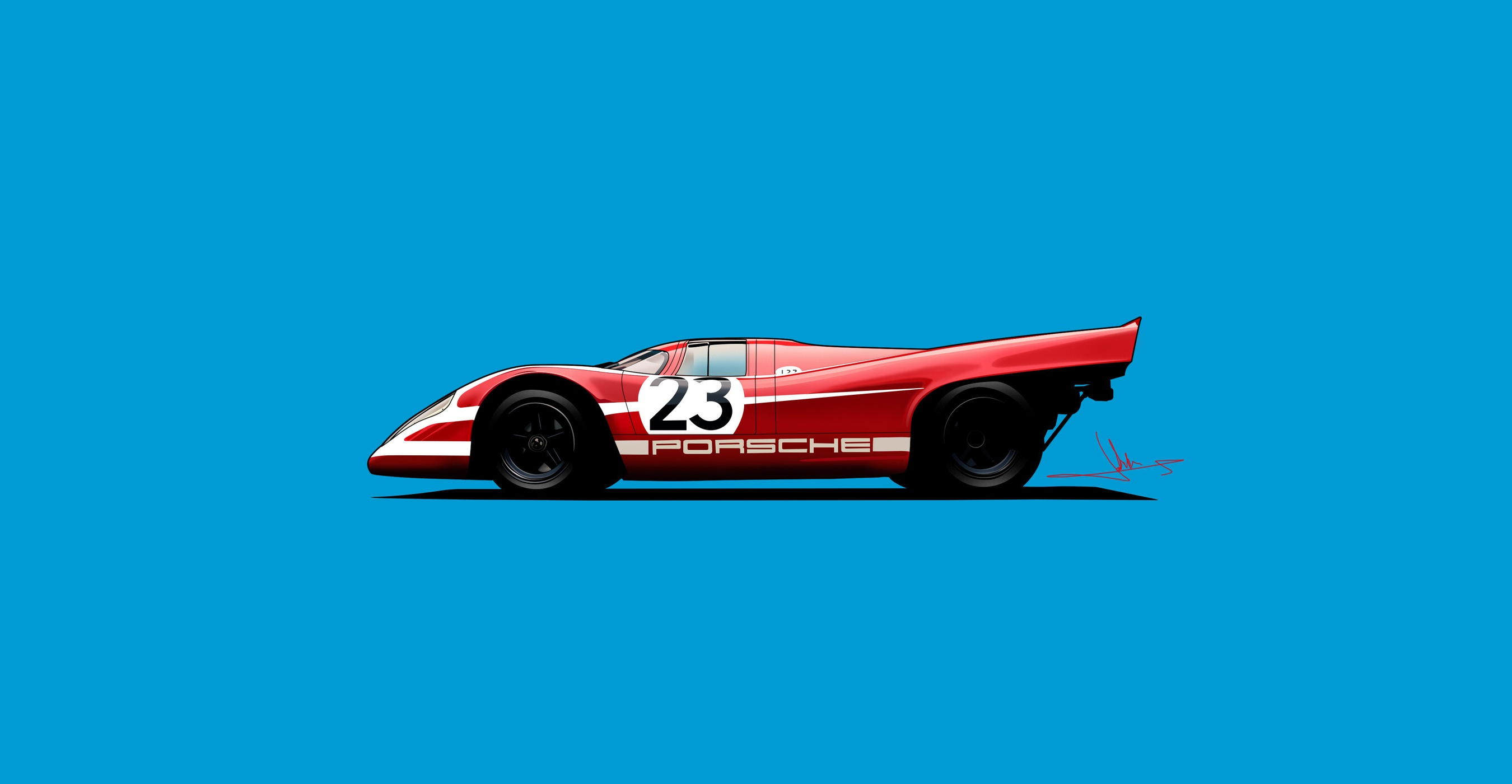 Porsche 917k Vector Art Hd Cars 4k Wallpapers Images Backgrounds Photos And Pictures