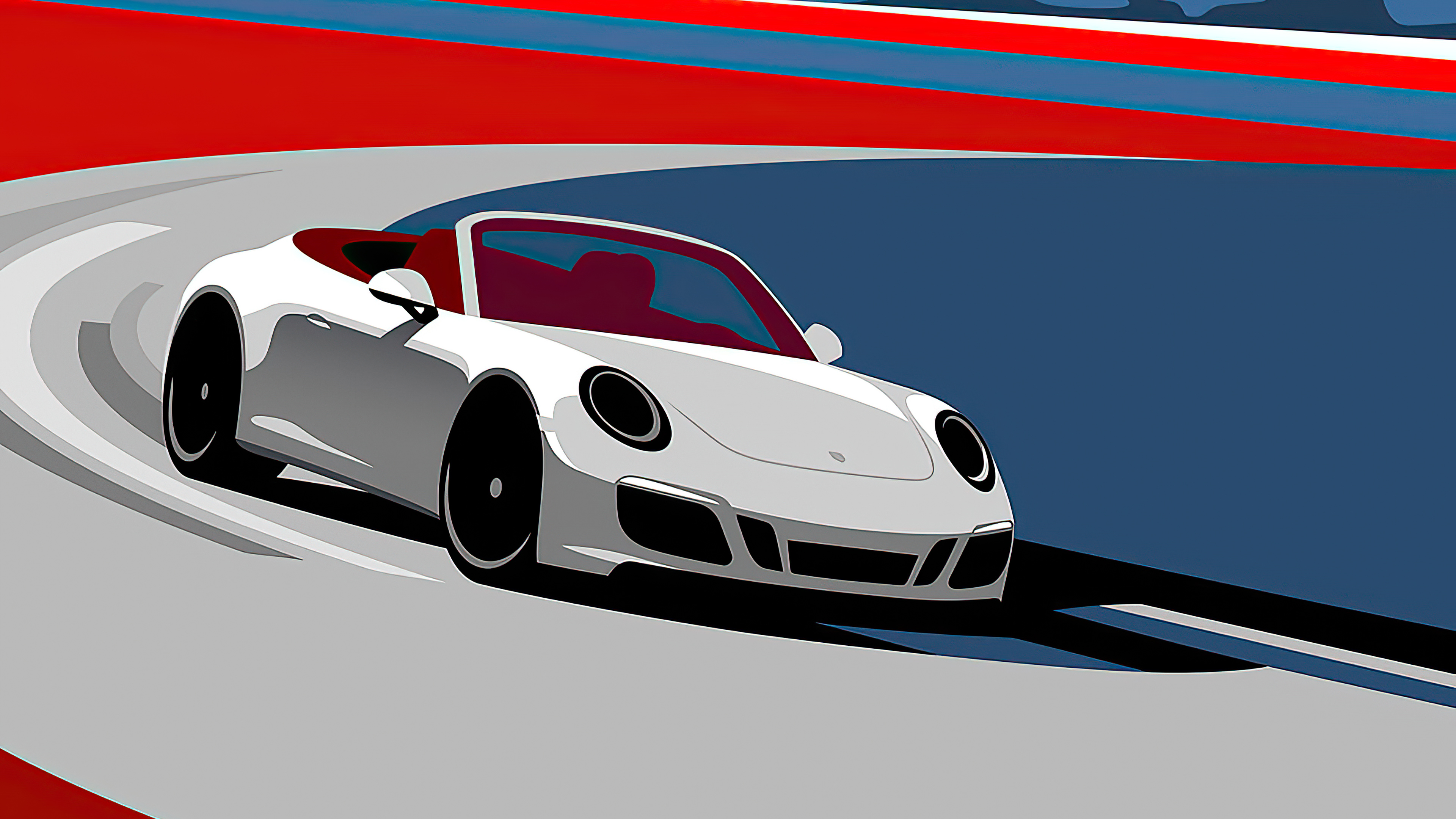 Porsche Artistic Art 4k Hd Cars 4k Wallpapers Images Backgrounds Photos And Pictures