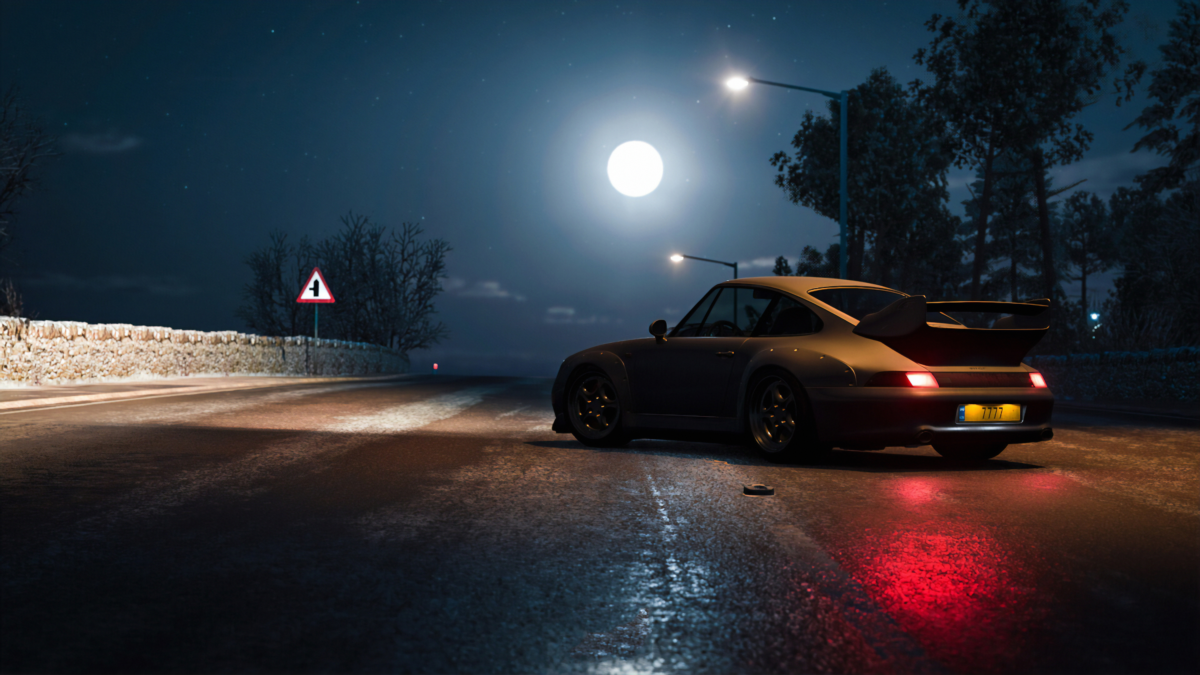 Porsche At Night Hd Cars 4k Wallpapers Images Backgrounds Photos And Pictures