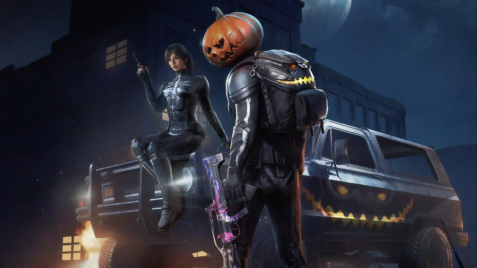 1920x1080 Pubg Halloween Laptop Full Hd 1080p Hd 4k Wallpapers Images Backgrounds Photos And Pictures