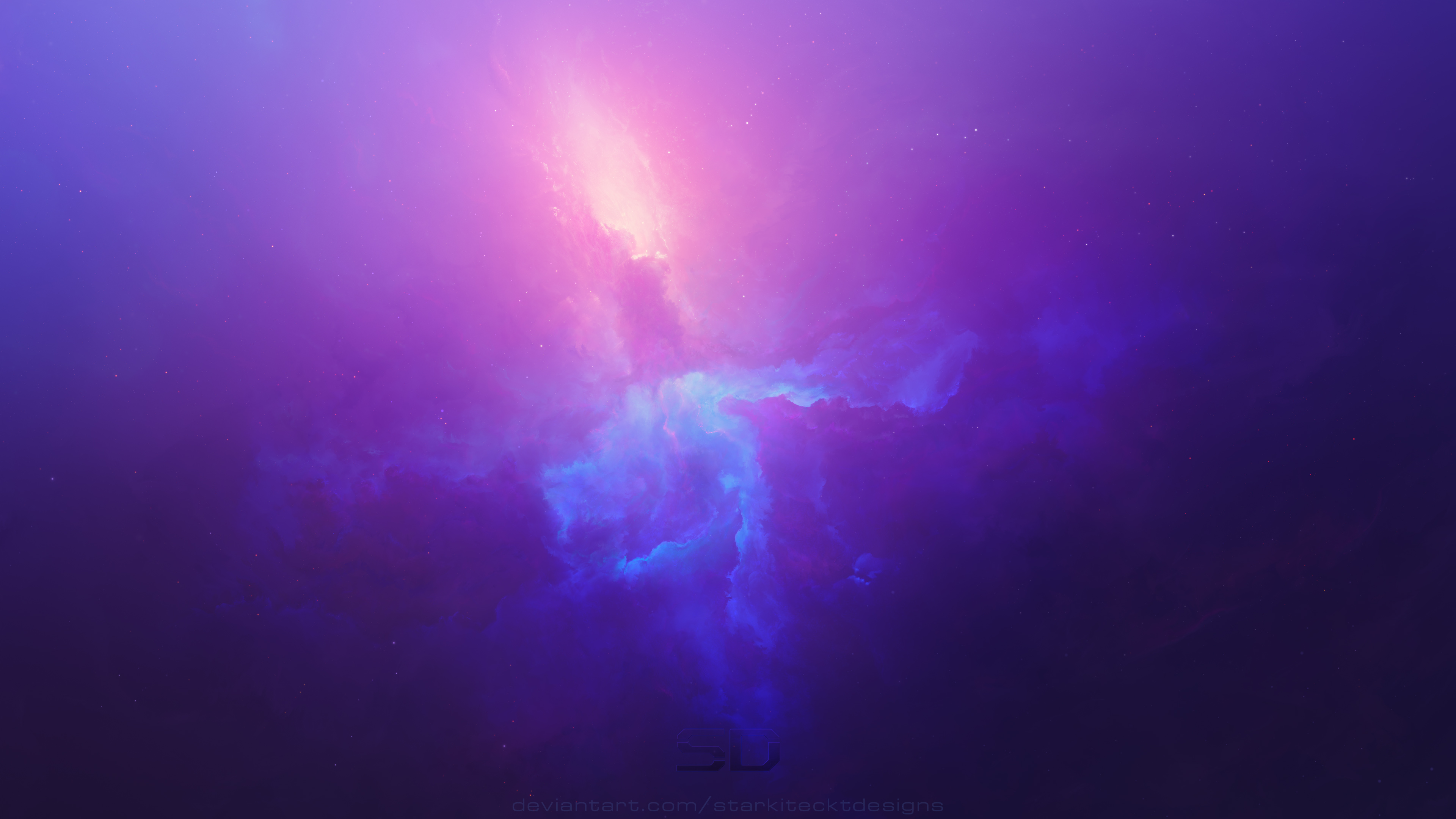 purple space cosmos abstract 4k 3h