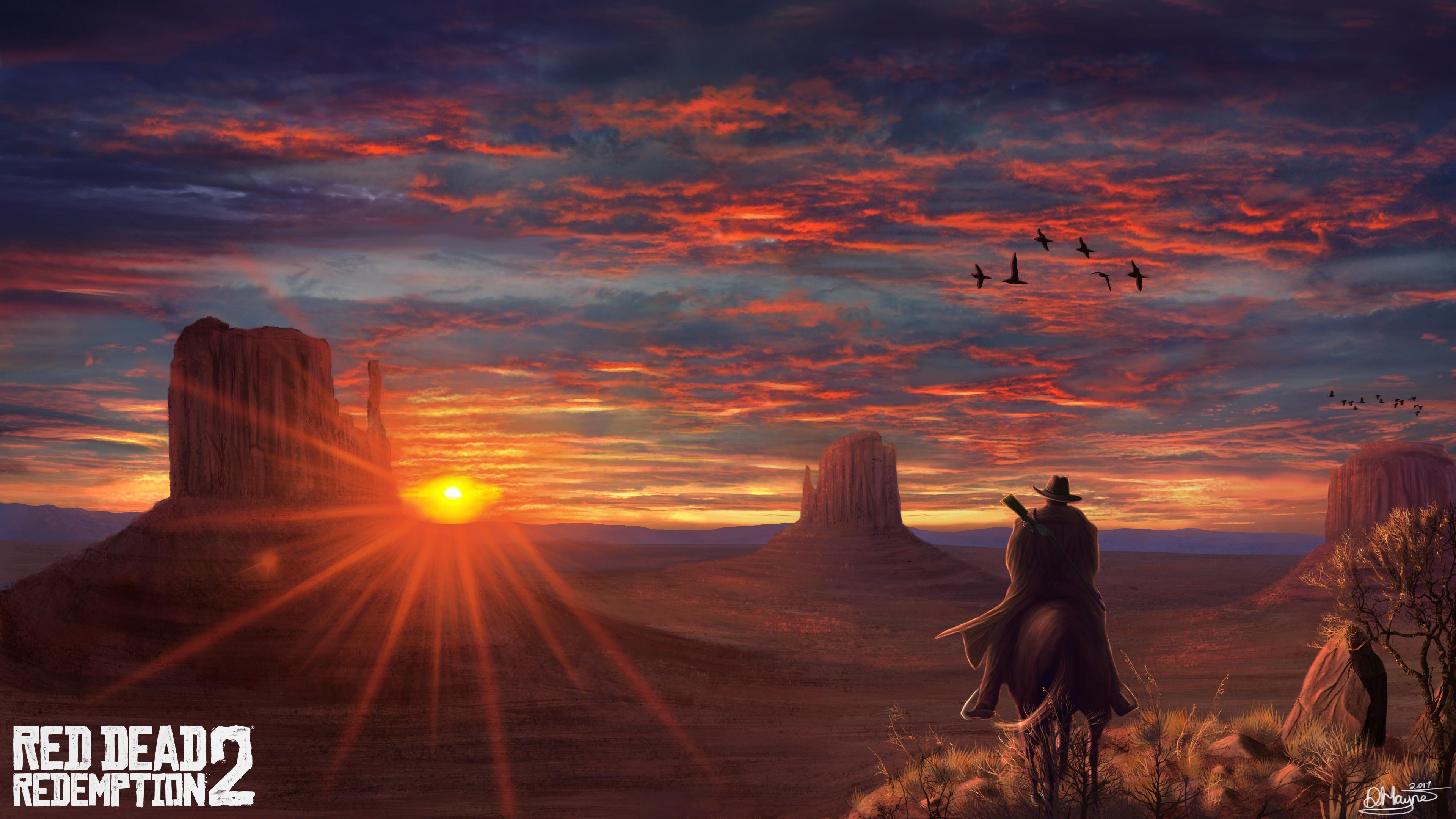 Red Dead Redemption 2 Fanart 4k Hd Games 4k Wallpapers Images
