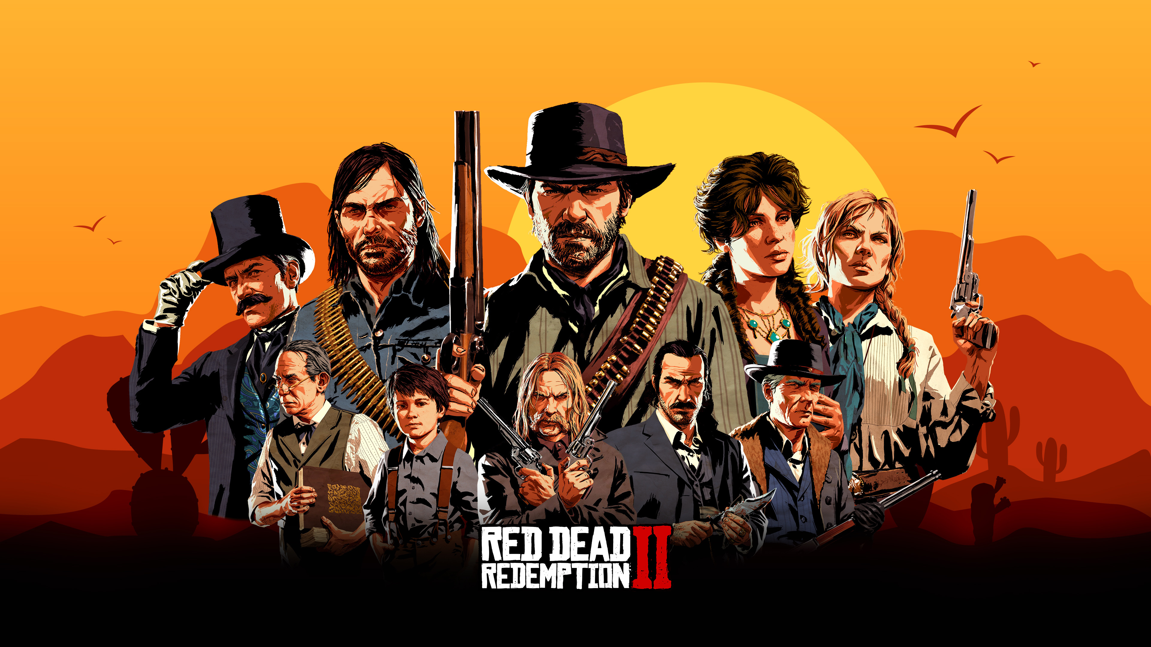 Red Dead Redemption 2 Game Characters Hd Games 4k Wallpapers