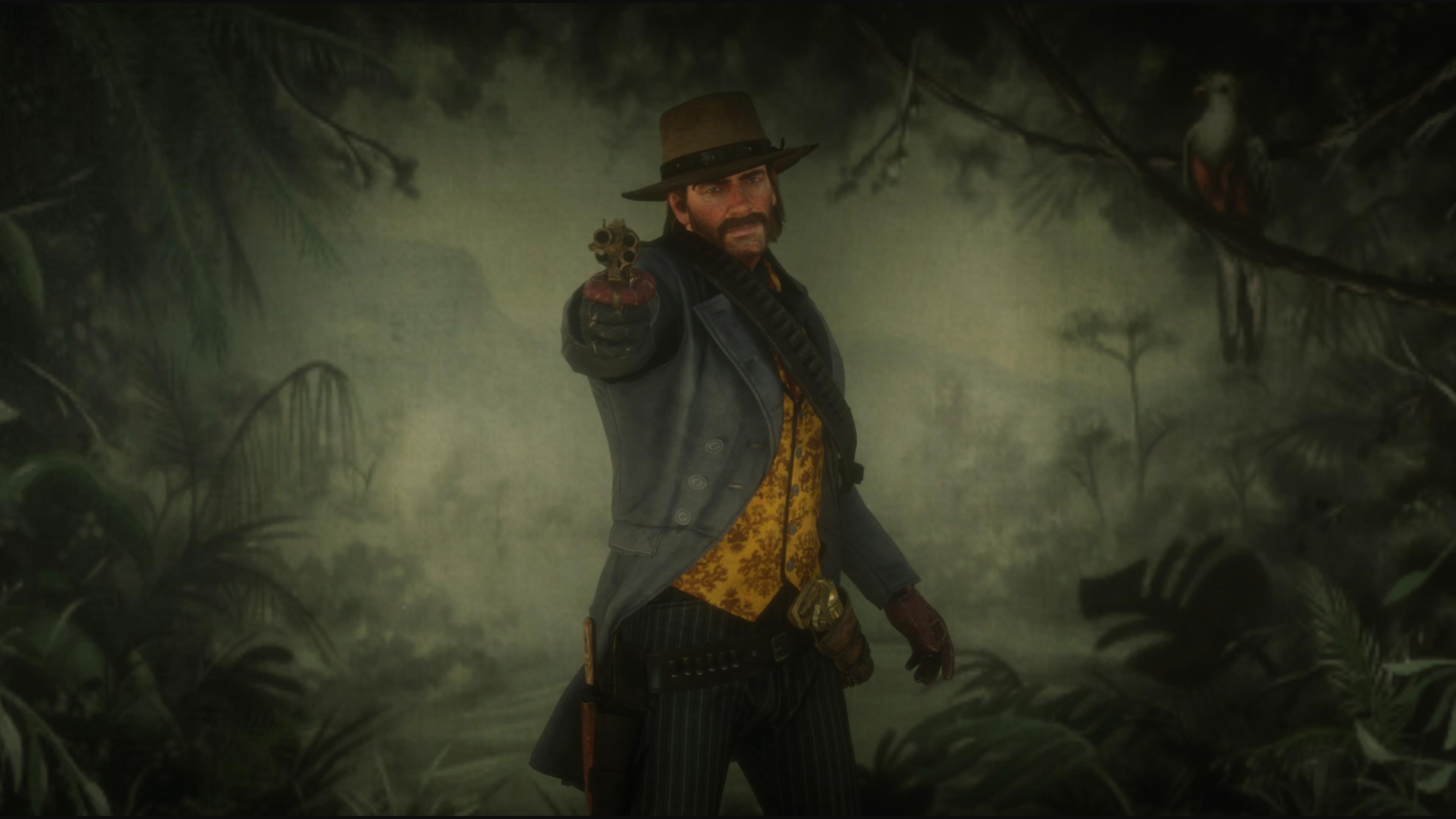 red dead redemption 2 gun ps4 4k u2
