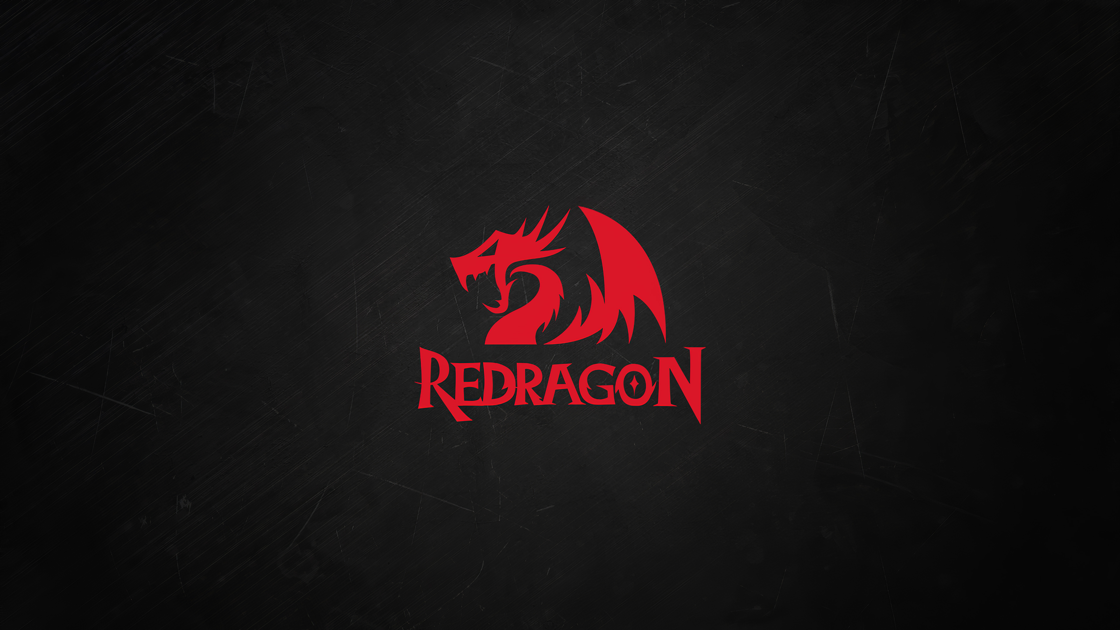 red dragon minimal logo 4k bs