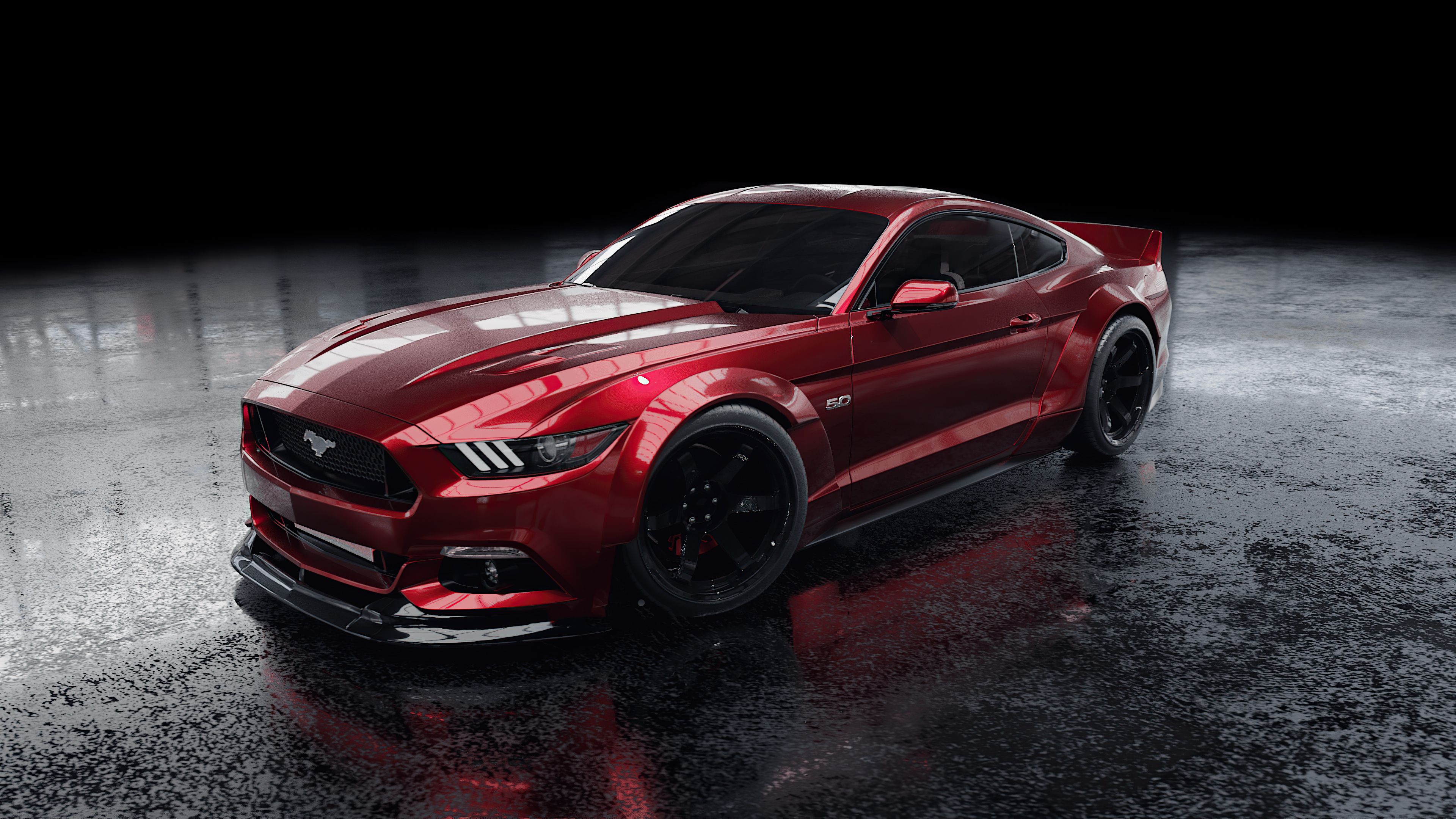 Red Ford Mustang 4k Hd Cars 4k Wallpapers Images Backgrounds Photos And Pictures