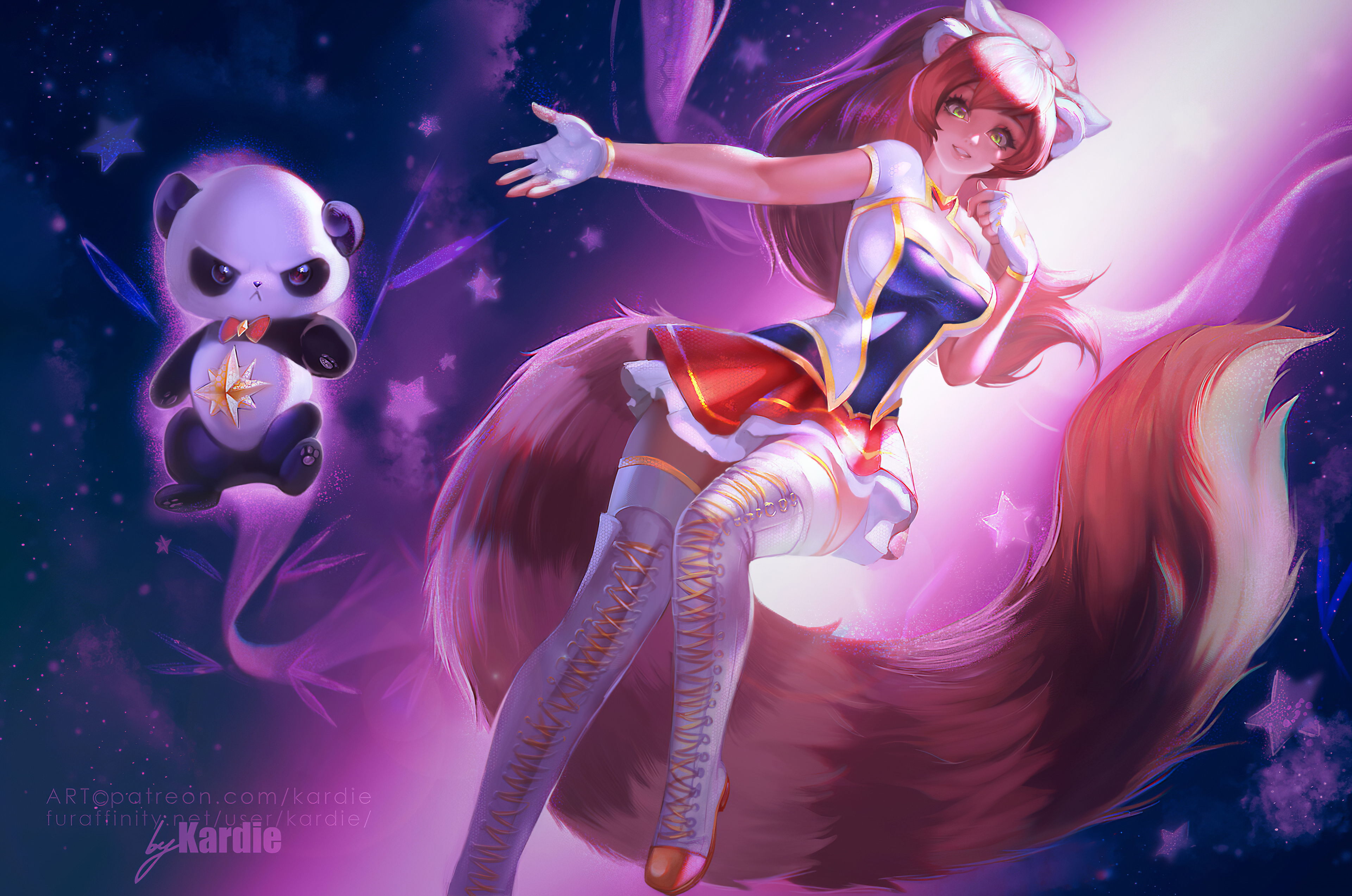 Red Panda Mei 4k, HD Anime, 4k Wallpapers, Images ...