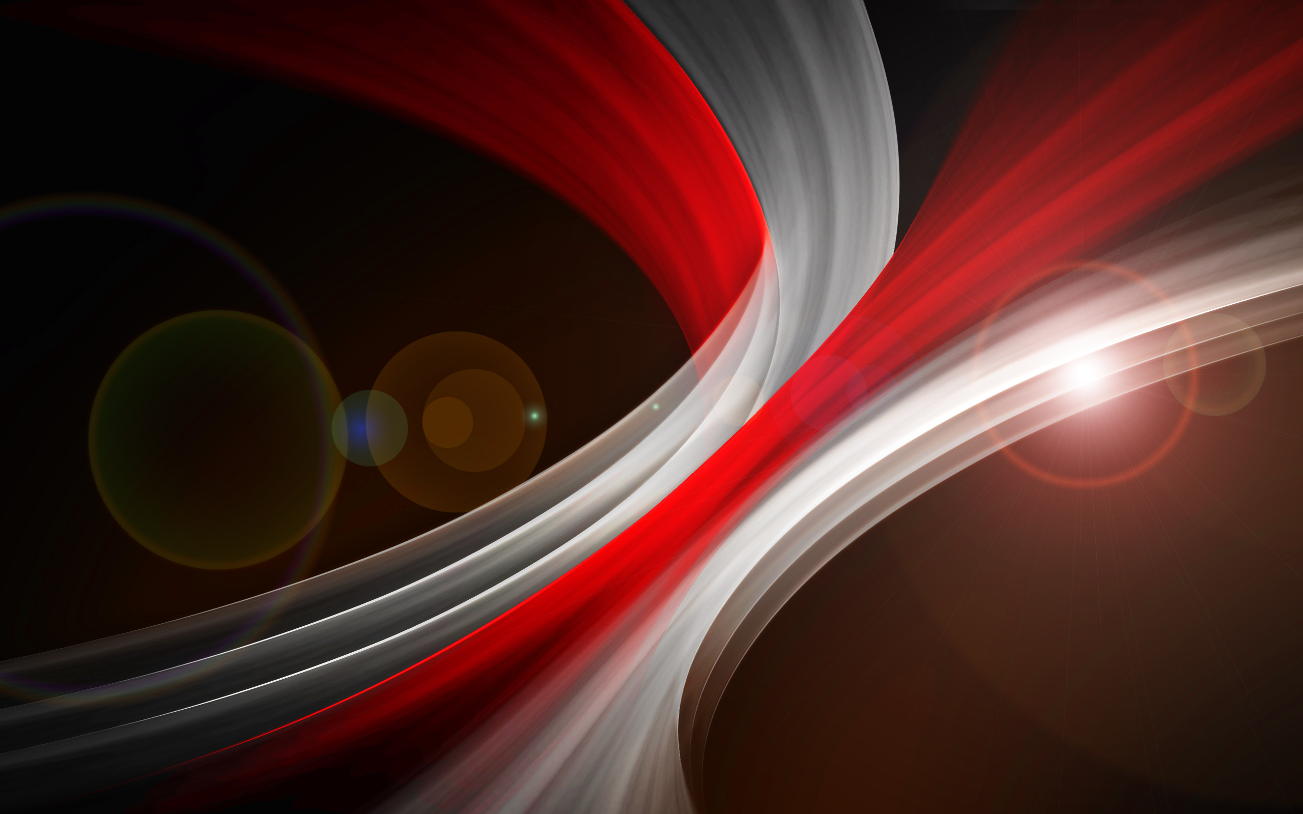 Red White Abstract Swirl Hd Abstract 4k Wallpapers Images