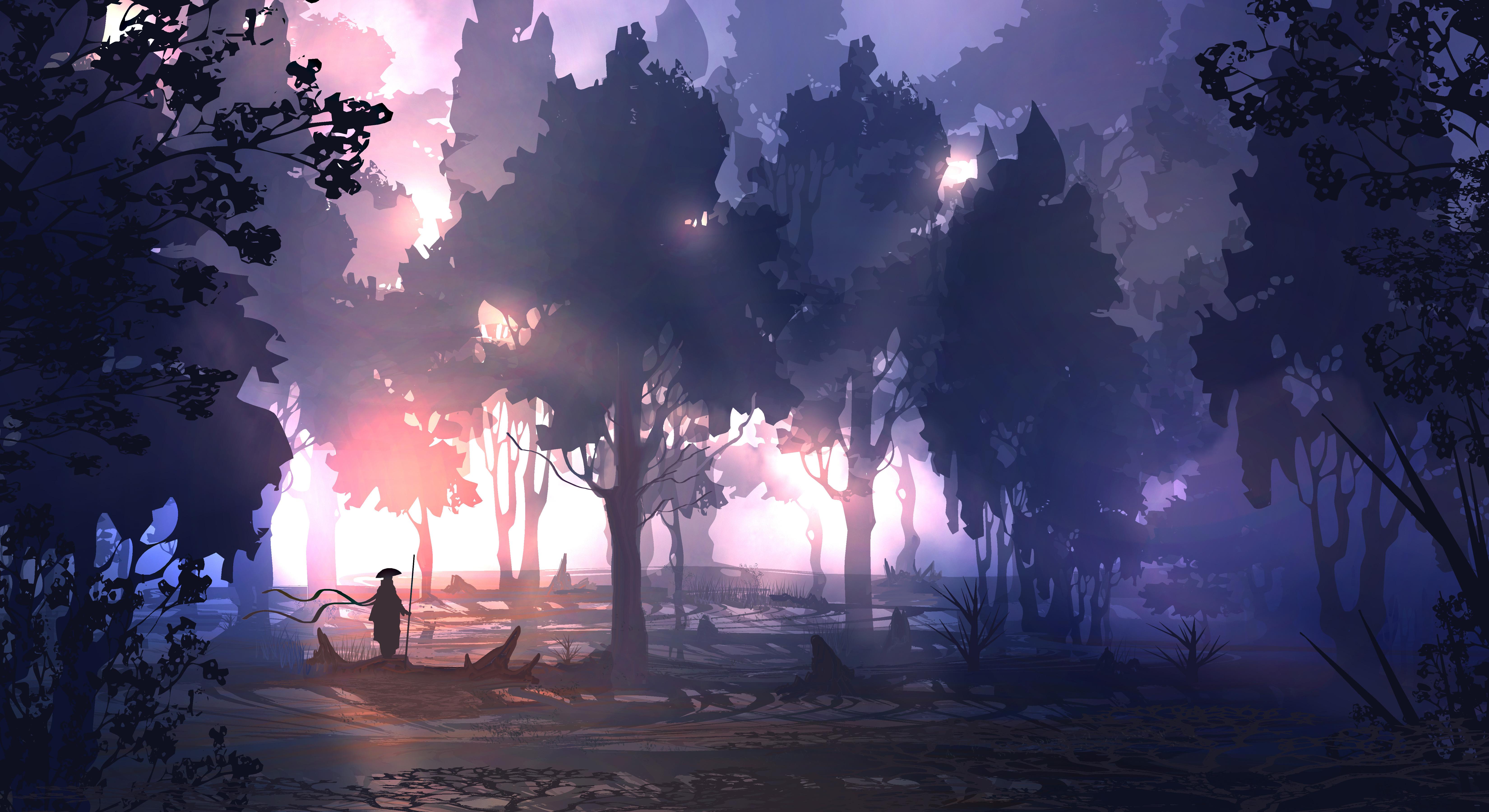 Remembering Digital Art Landscape 12k, HD Artist, 12k Wallpapers ...
