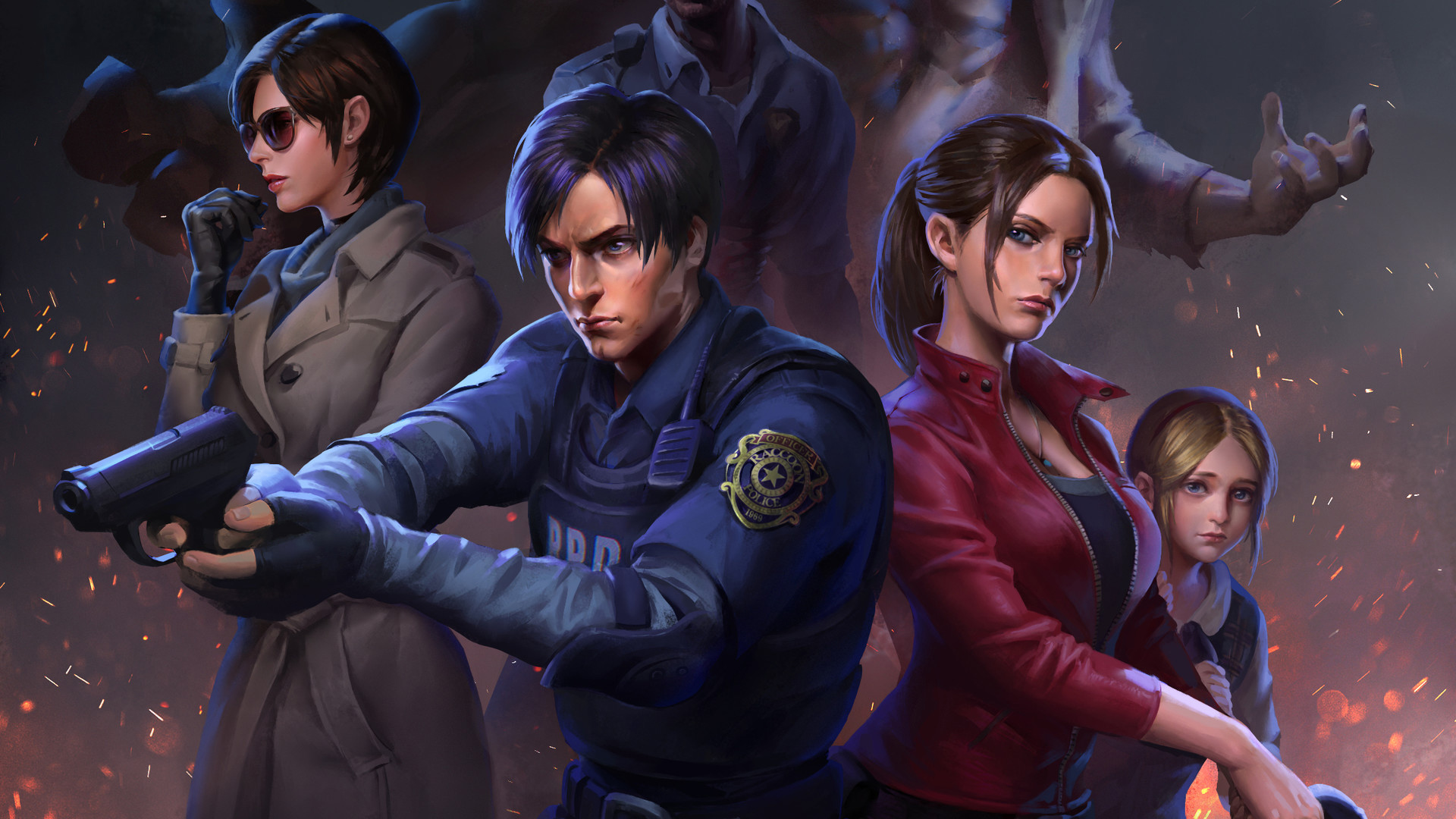 Resident Evil 2 Art Hd Games 4k Wallpapers Images Backgrounds