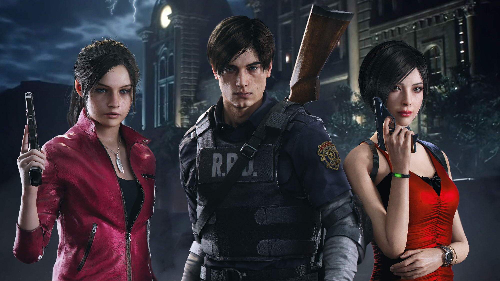 Resident Evil 2 Arts Hd Games 4k Wallpapers Images Backgrounds