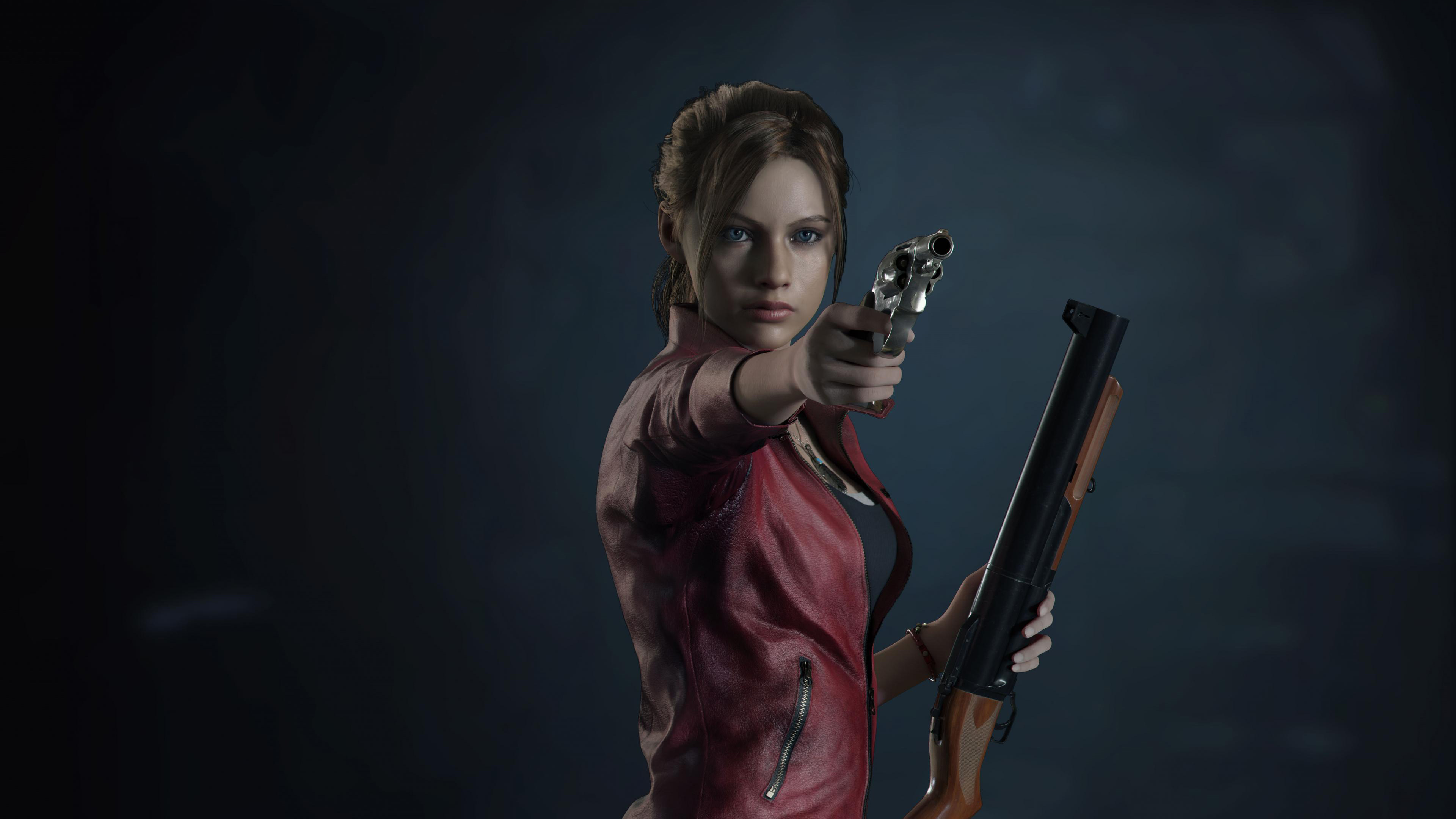 Resident Evil 2 Claire Redfield 4k Hd Games 4k Wallpapers