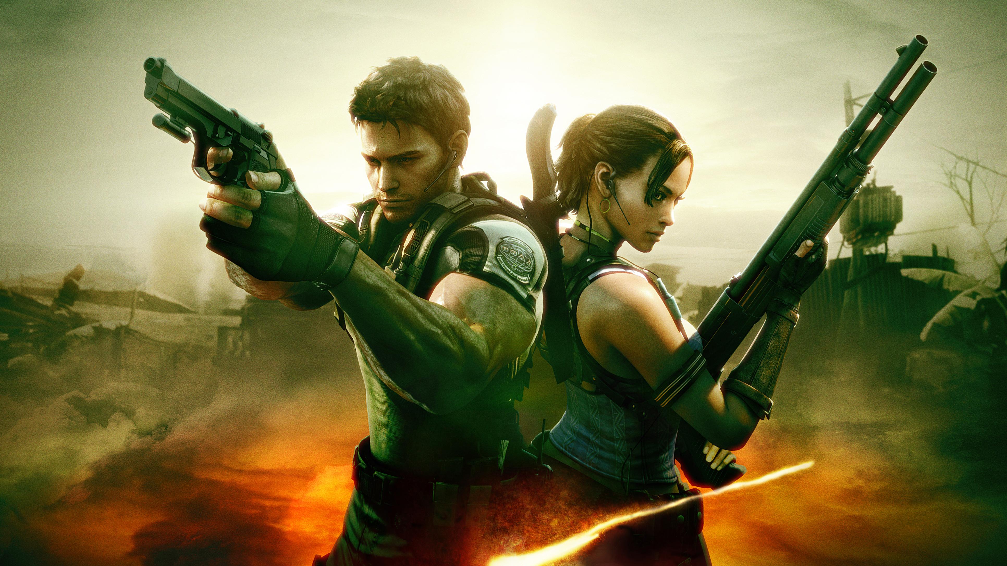 Resident Evil 5 4k Hd Games 4k Wallpapers Images Backgrounds