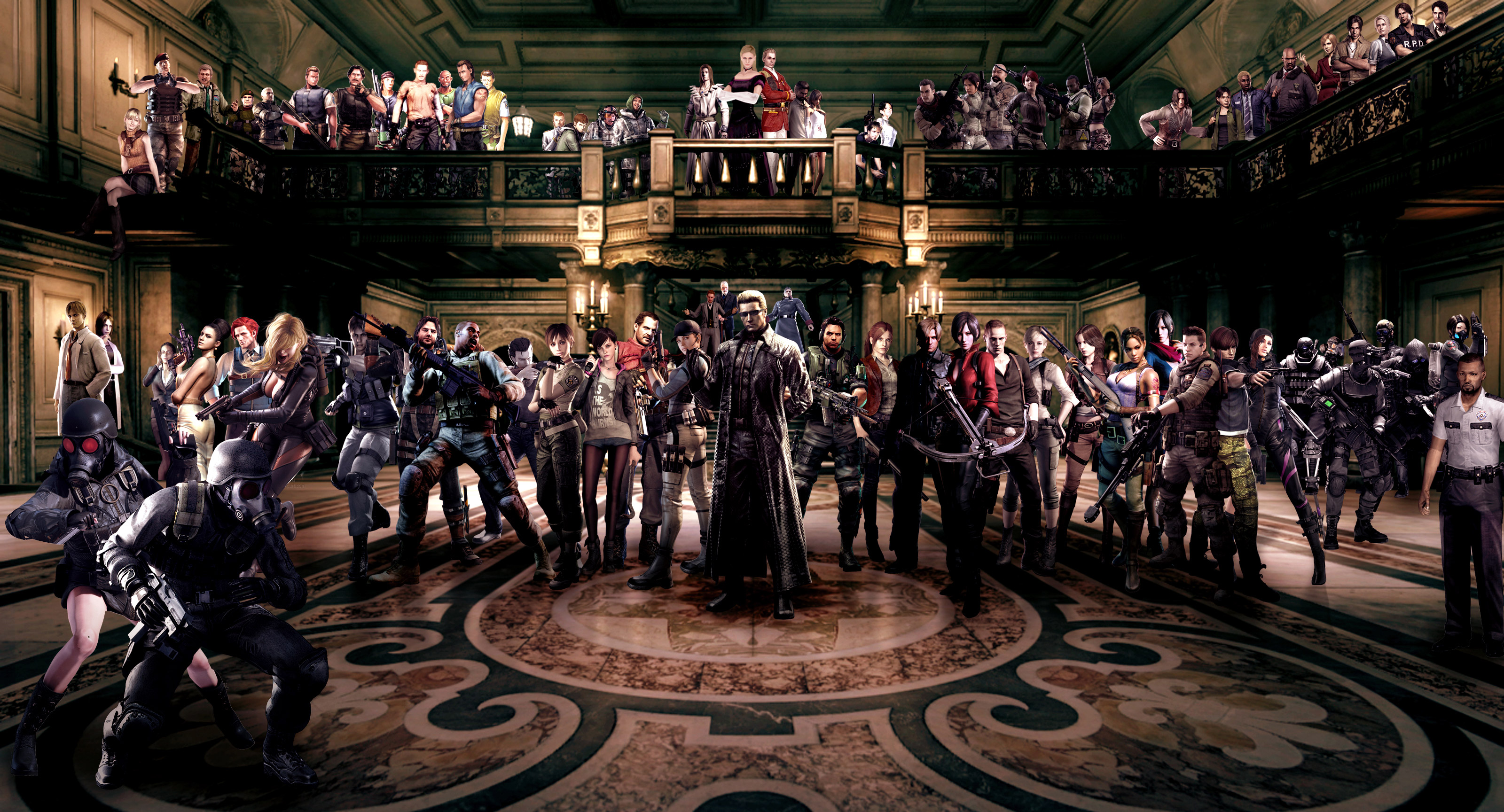 Resident Evil Characters Hd Games 4k Wallpapers Images