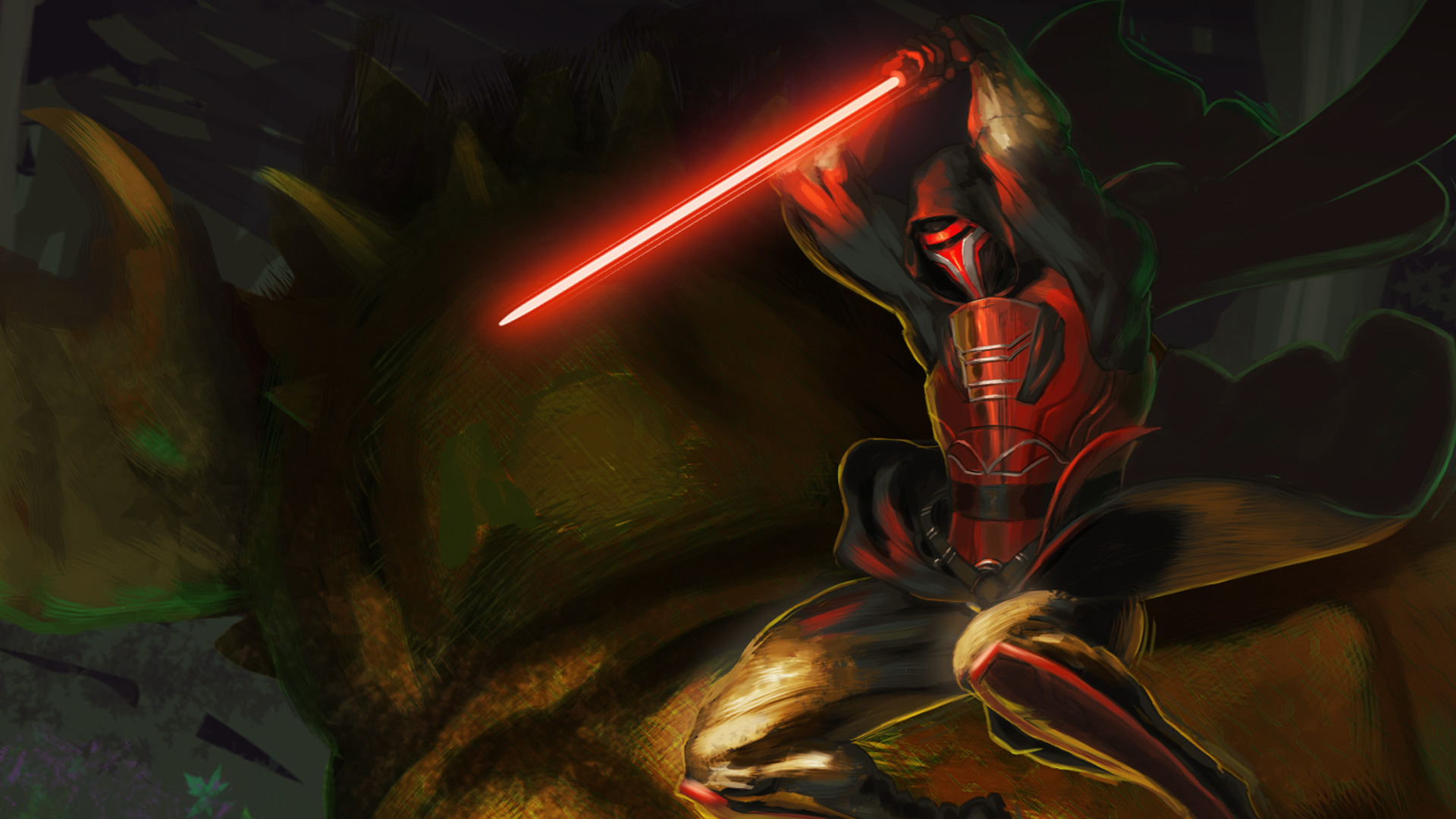 2048x1152 Revan With Lightsaber Star Wars 2048x1152 Resolution Hd 4k Wallpapers Images Backgrounds Photos And Pictures