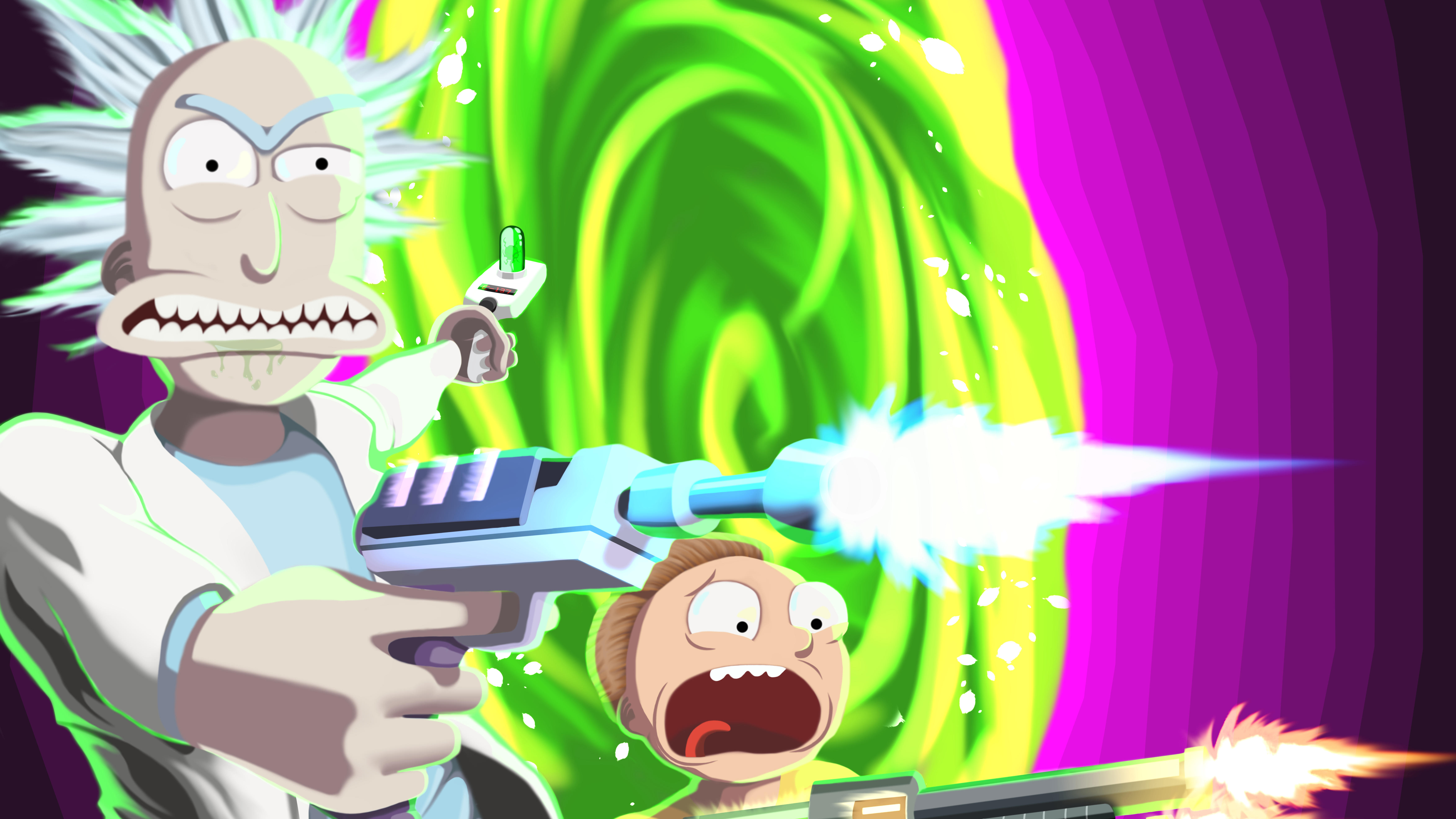 1242x2688 Rick And Morty 8k 2020 Iphone XS MAX HD 4k ...