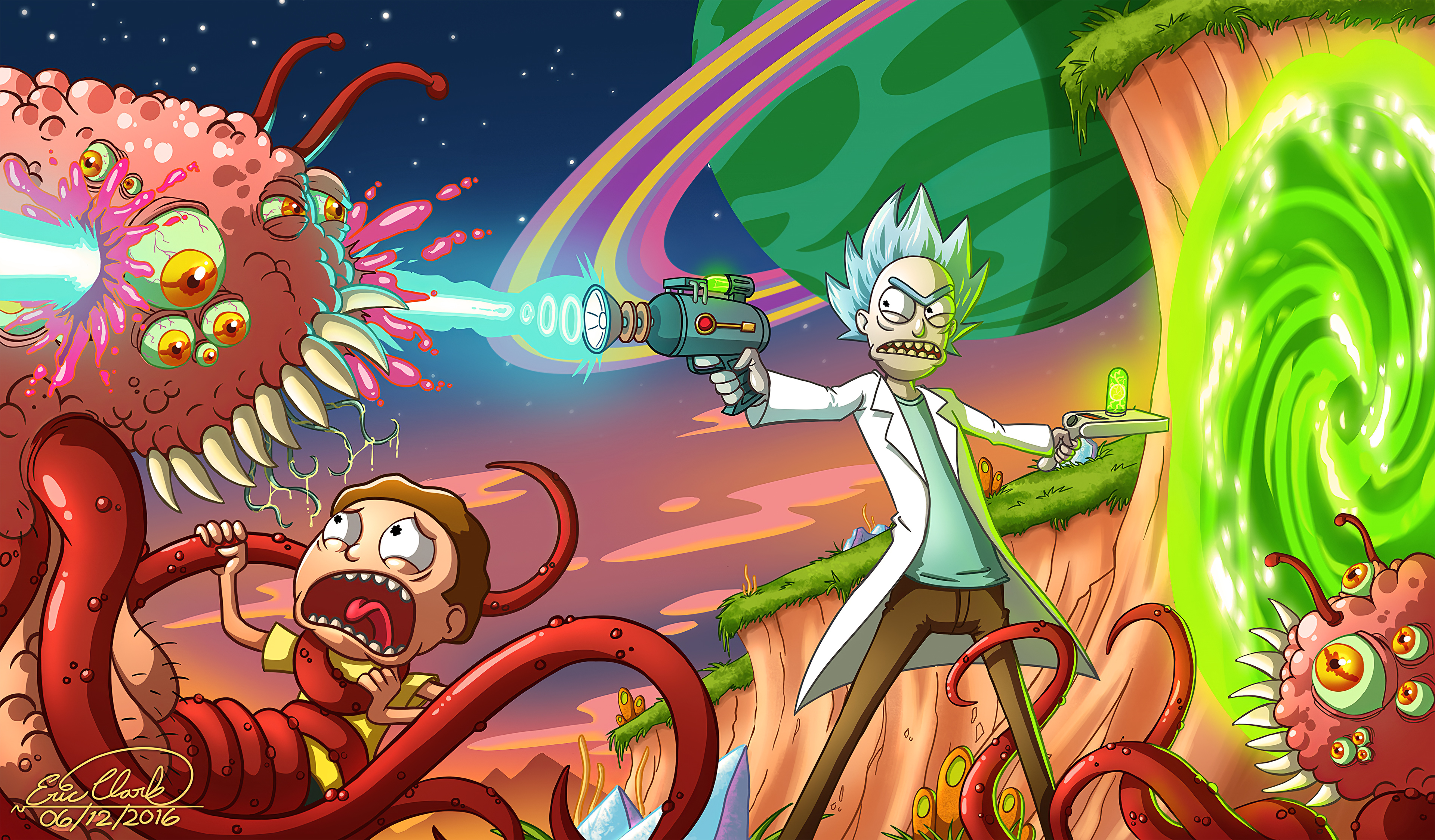 Rick And Morty Smith Adventures 4k Hd Tv Shows 4k Wallpapers
