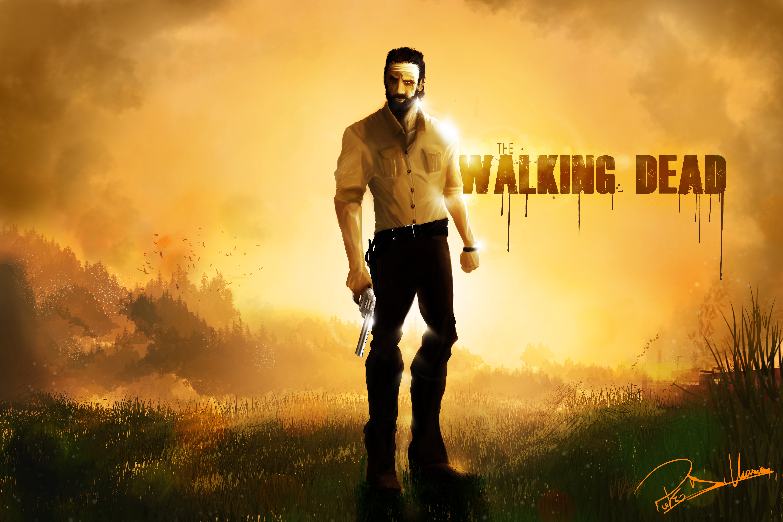 Rick Grimes The Walking Dead 5k Artwork Hd Tv Shows 4k