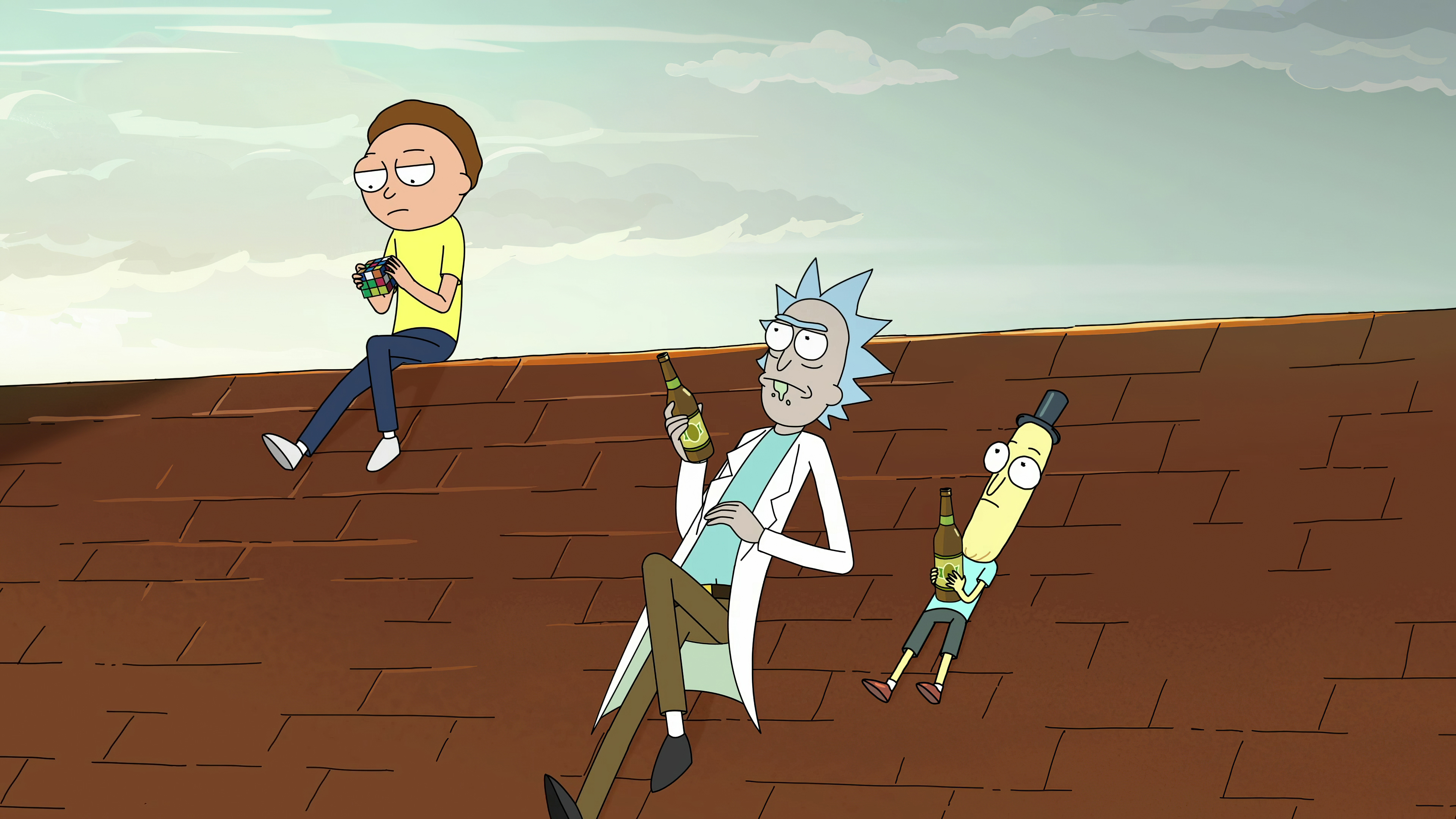 1366x768 Rick Morty And Mr Poopybutthole 4k 1366x768 Resolution Hd 4k Wallpapers Images Backgrounds Photos And Pictures