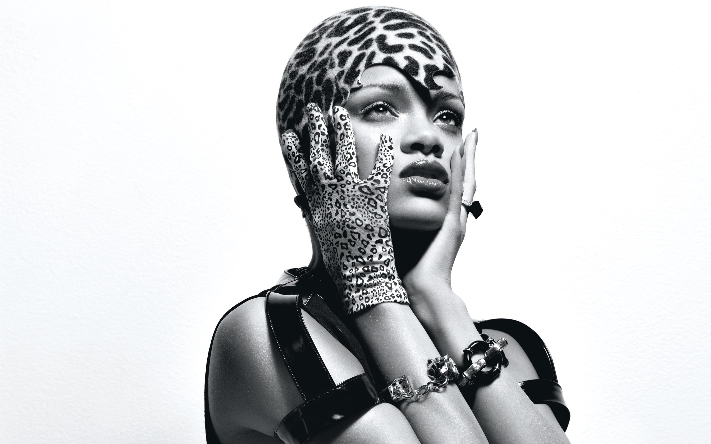 Rihanna Monochrome 4k Hd Celebrities 4k Wallpapers Images