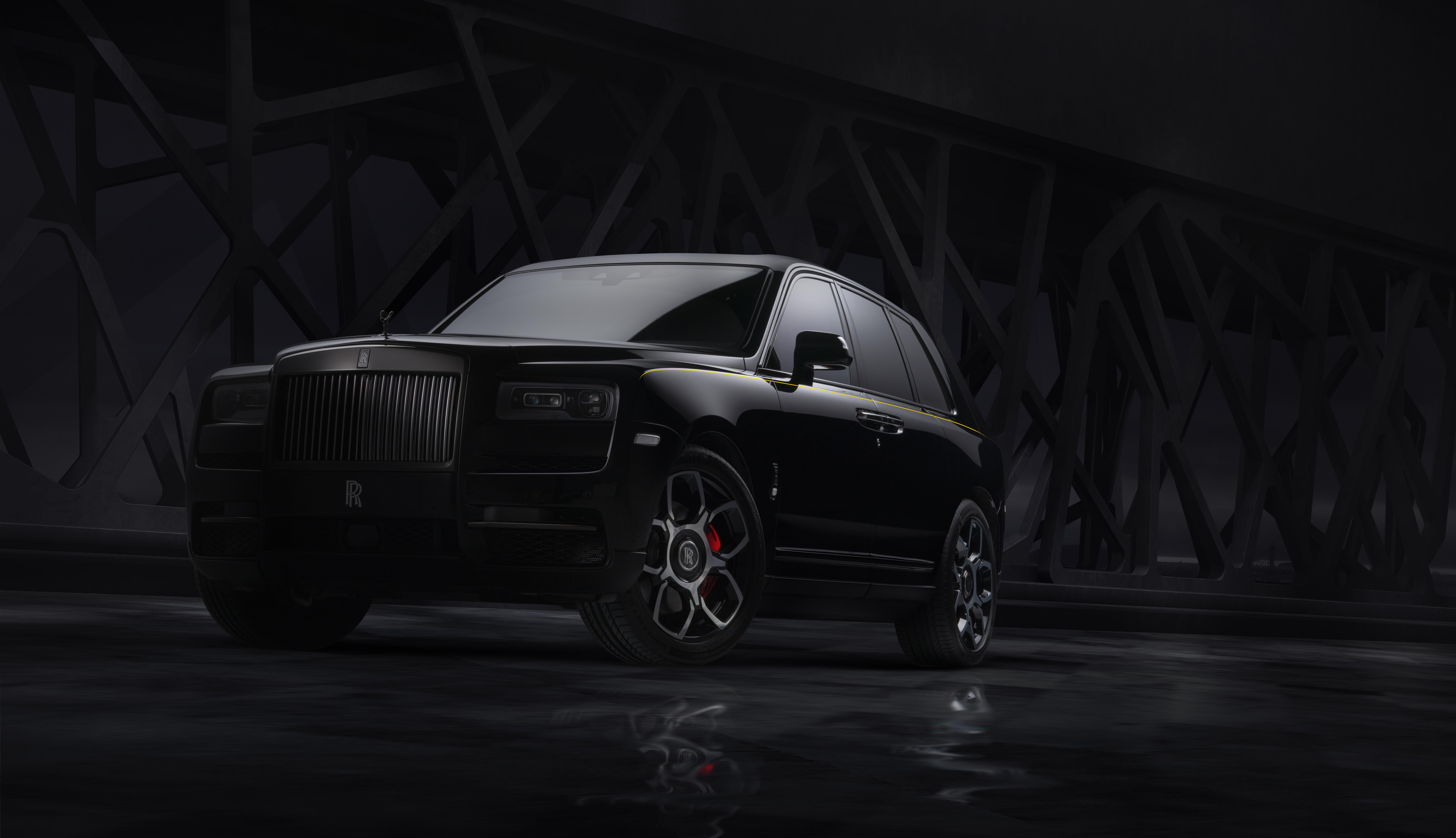 Rolls Royce Cullinan Black Badge 2019, HD Cars, 4k ...