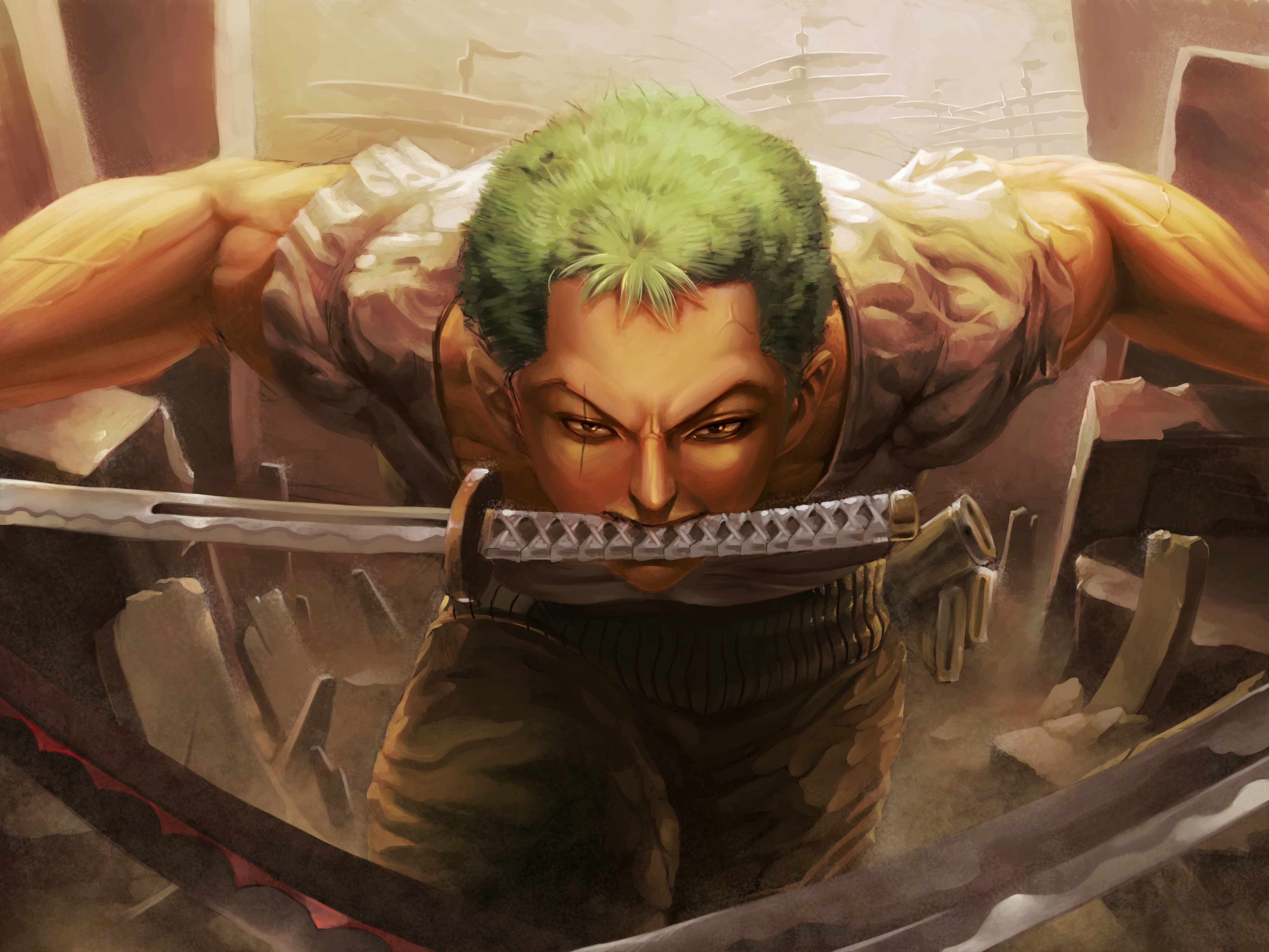 320x240 Roronoa Zoro 4k Apple Iphone Ipod Touch Galaxy Ace Hd 4k Wallpapers Images Backgrounds Photos And Pictures